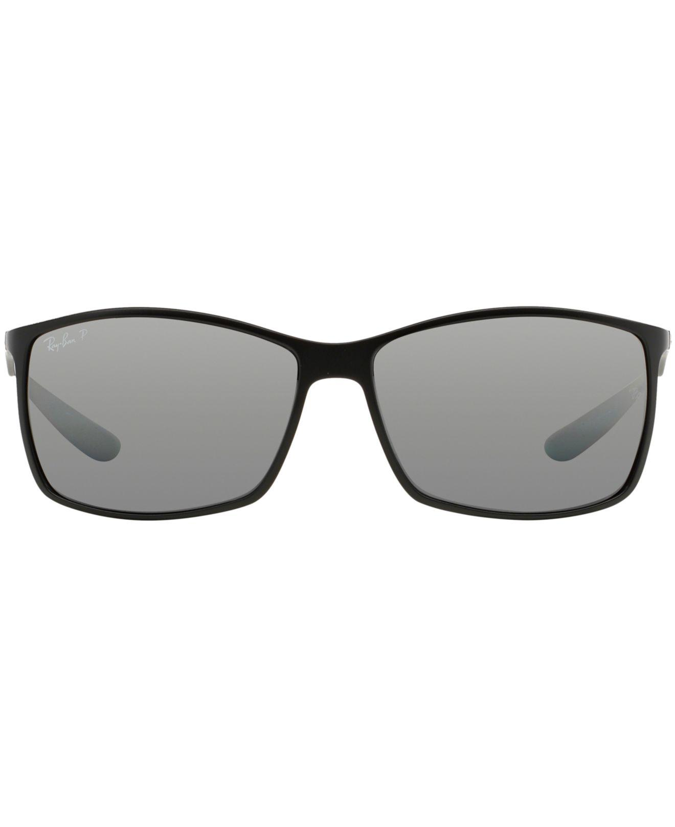 b1bd1bf669416 ... shop lyst ray ban sunglasses rb4179 62 liteforce in black for men cd7a9  7270e
