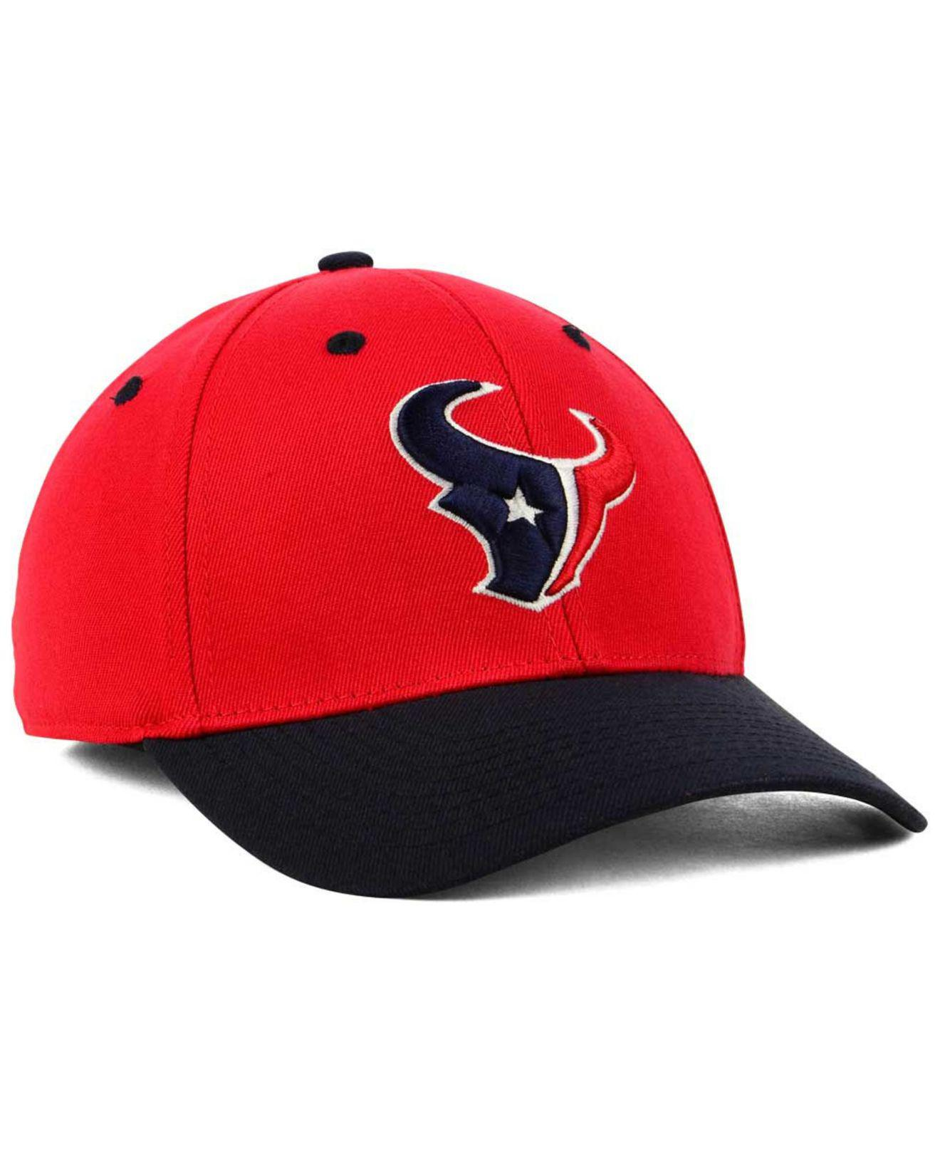 lowest price e9cf7 fae4e Lyst - 47 Brand Kickoff 2-tone Contender Cap in Red for Men