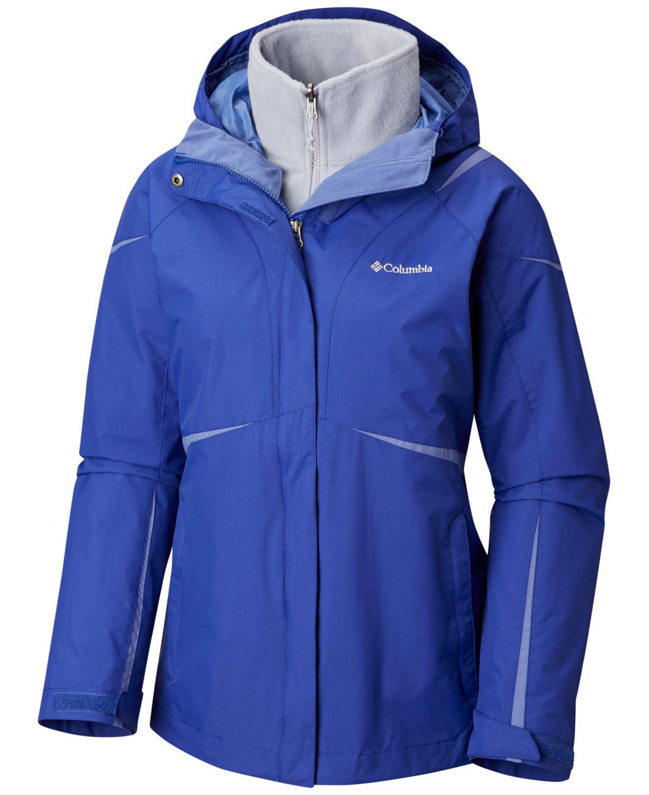 Columbia Blazing Startm Waterproof Fleece-lined Jacket in ...