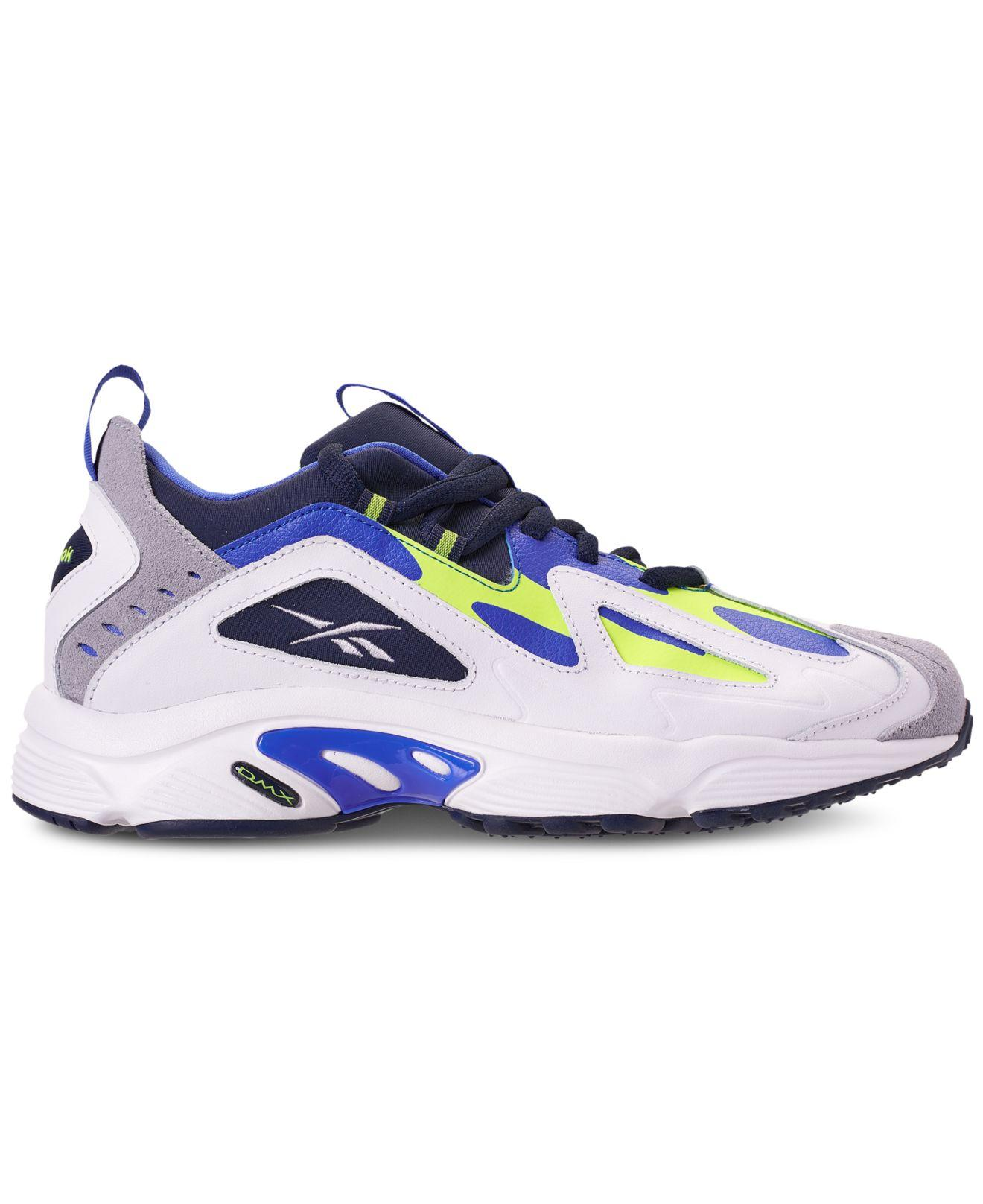 Lyst - Reebok Dmx 1200 Low Casual Sneakers From Finish Line in Blue for Men 93fdb0534