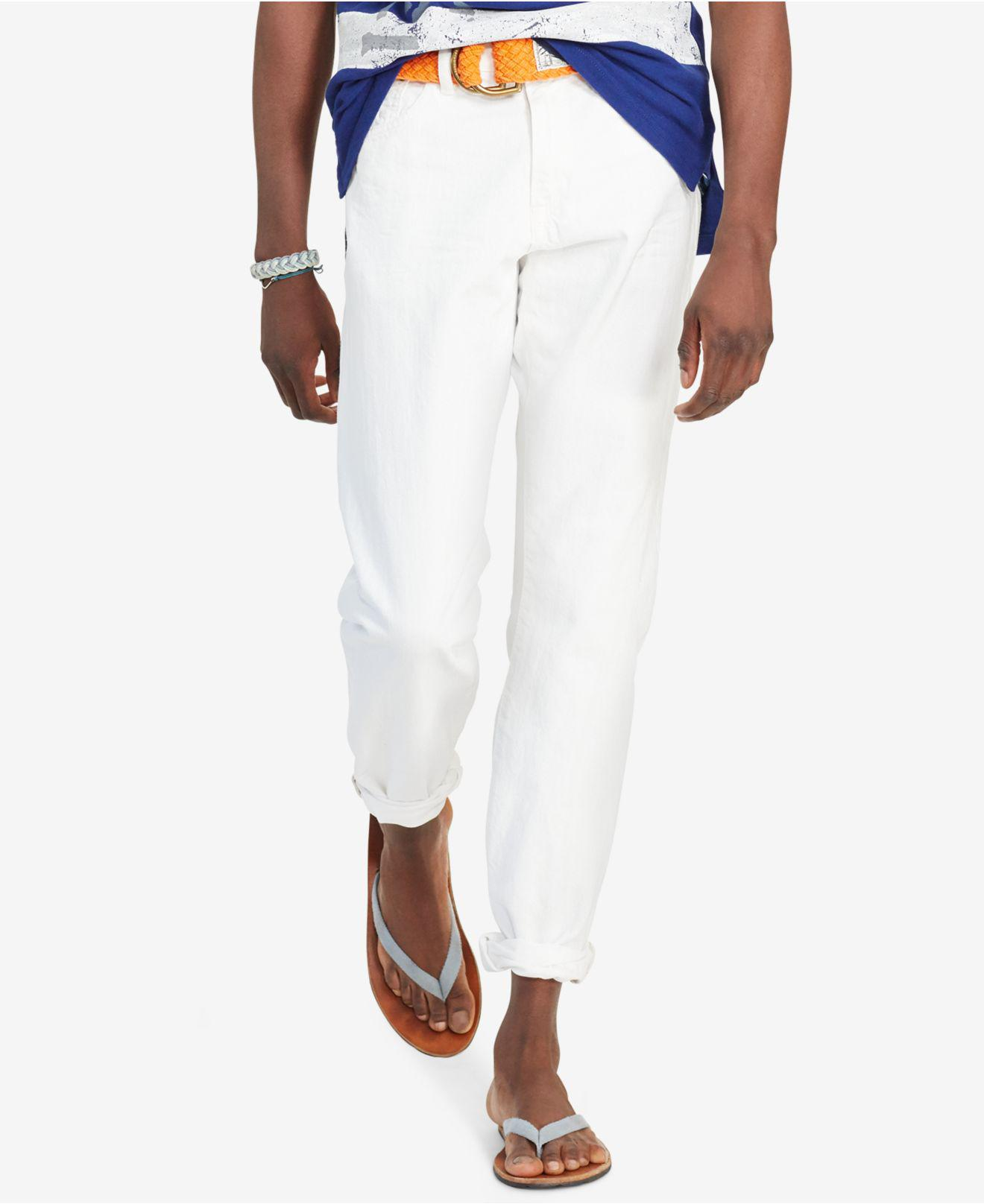 Polo By Ralph Lauren Mens Allover Pony Prospect Shorts