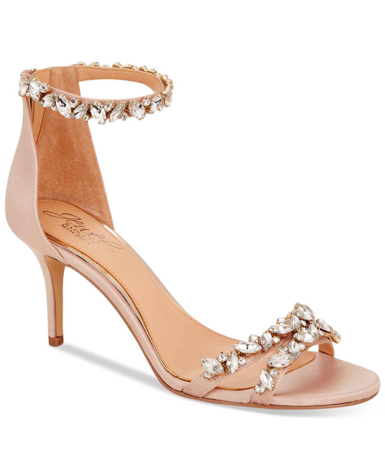 Badgley Mischka. Women s Caroline Ankle-strap Evening Sandals