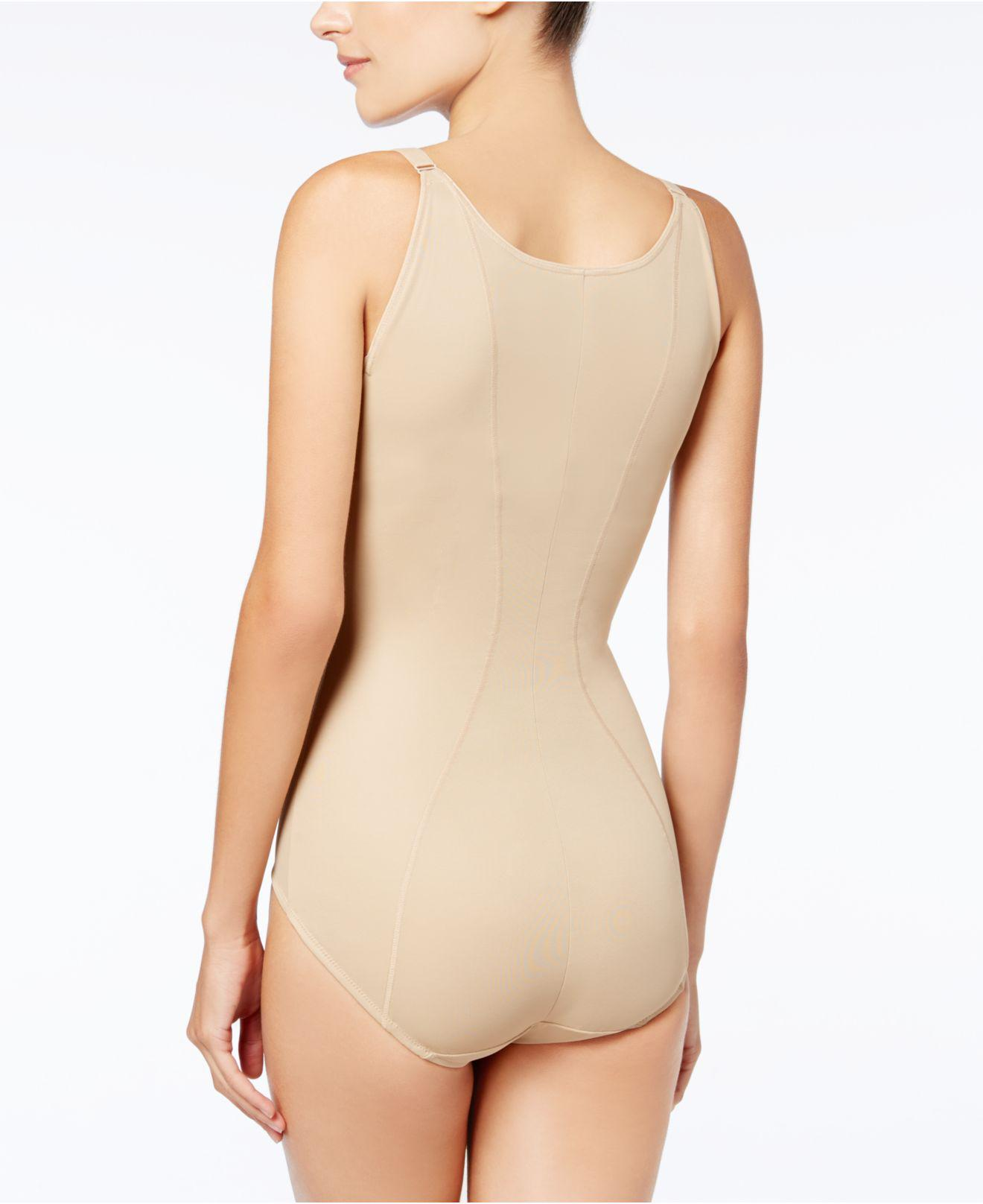 113189df2f Lyst - Maidenform Firm Control Ultimate Instant Slimmer Open Bust Body  Shaper 2656 in Natural