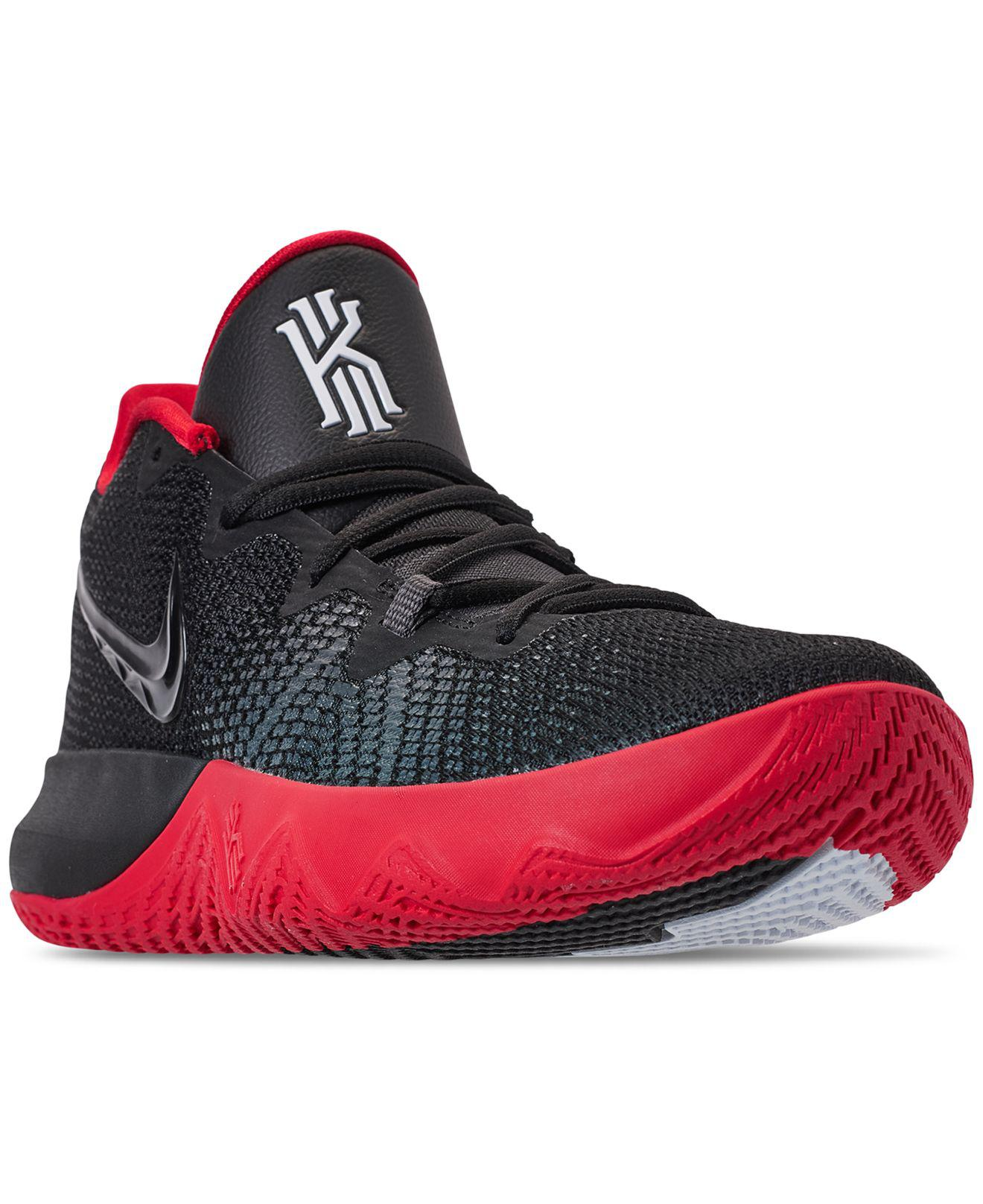 on sale e058e 238db nike -BLACKBLACK-WHITE-UNIV-RE-Kyrie-Flytrap-Basketball-Sneakers-From-Finish-Line.jpeg
