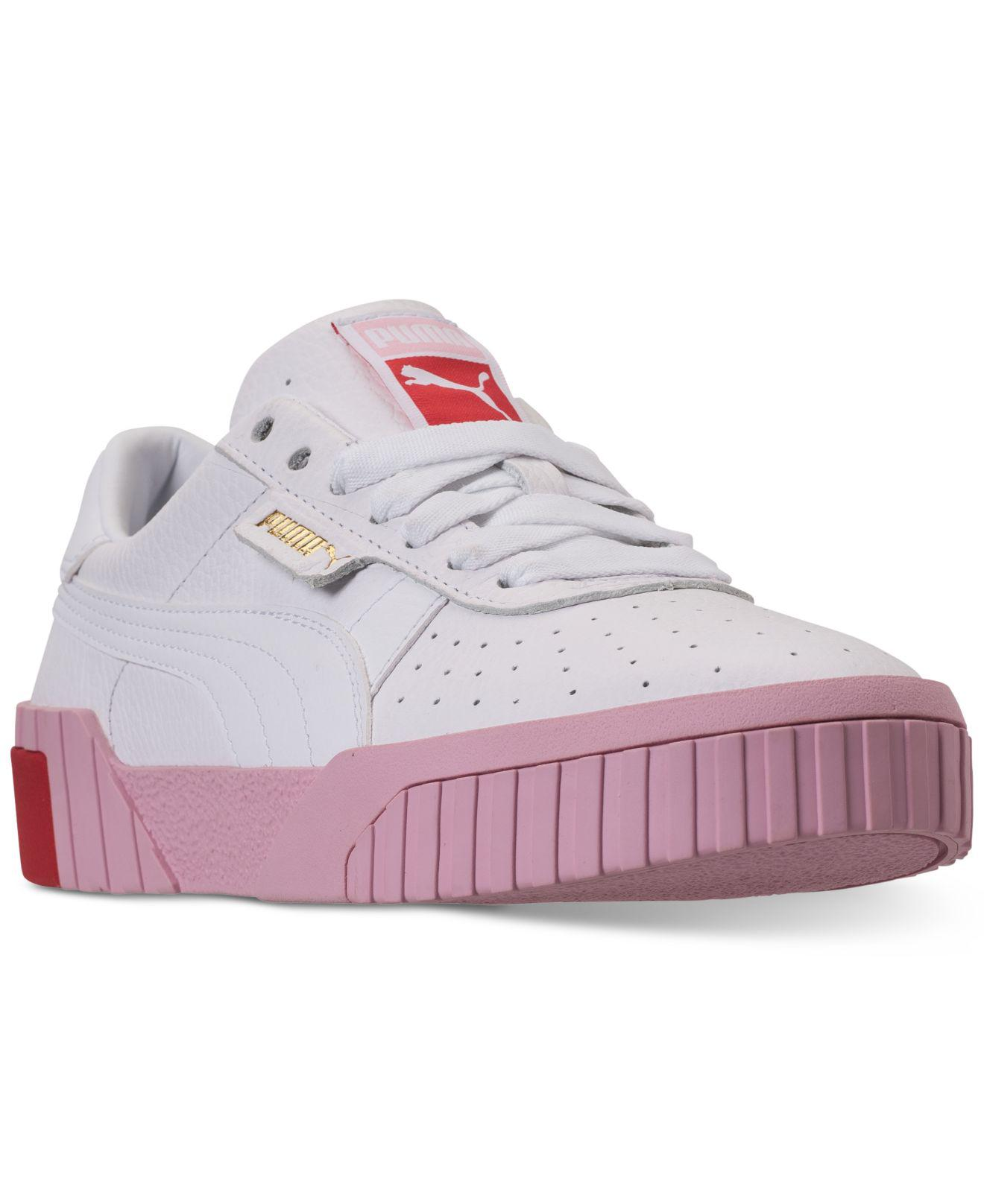 bcc8b6e161ad Lyst - PUMA California Fashion Casual Sneakers From Finish Line in Pink