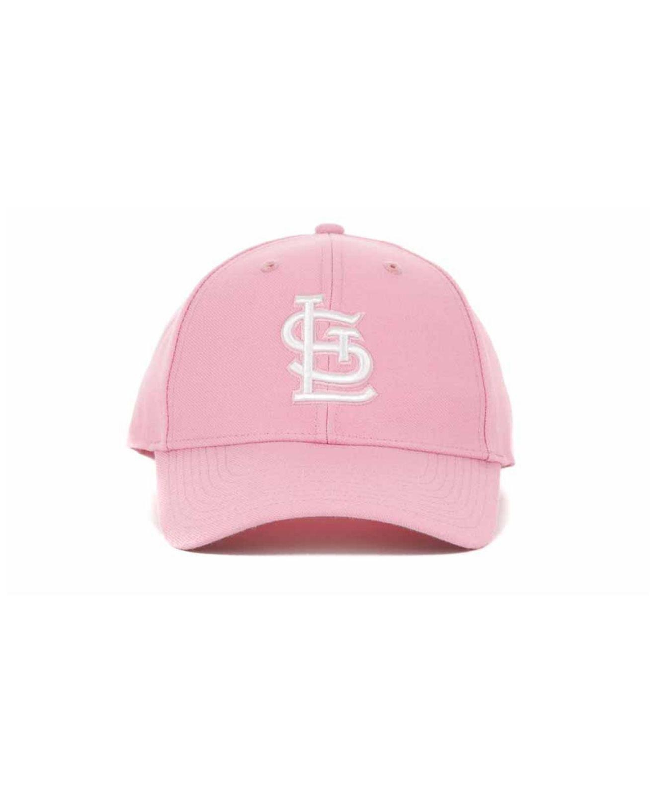 7bae153acf011 ... purchase lyst 47 brand st. louis cardinals mvp cap in pink for men  05a0c 62983