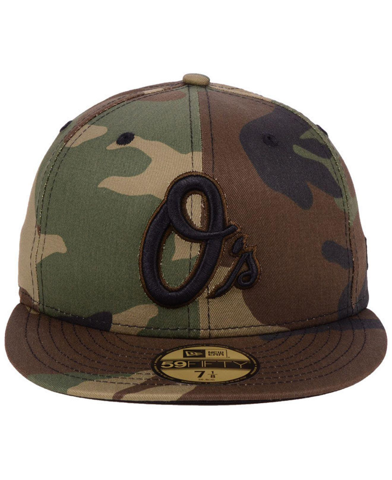buy popular 82896 713d3 ... good lyst ktz baltimore orioles fall prism pack 59fifty fitted cap in  green for men 5f423