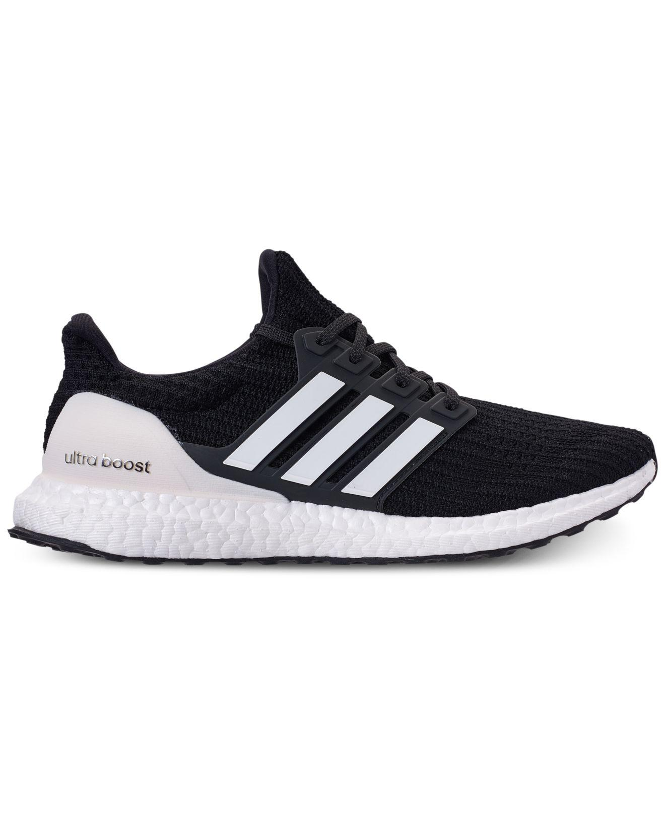 dc83251e635e6 Lyst - adidas Ultraboost Running Sneakers From Finish Line in Black for Men