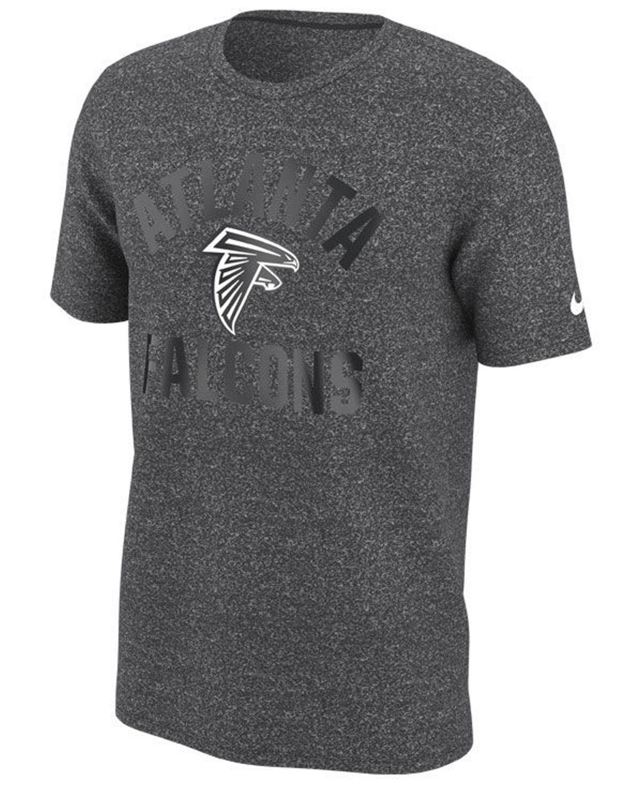 98b02964fbae Lyst - Nike Atlanta Falcons Marled Gym Arch T-shirt in Gray for Men