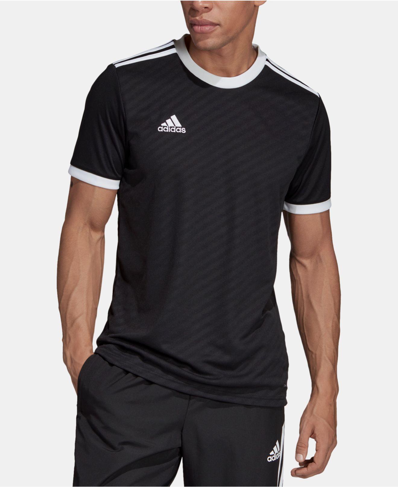 adidas Synthetic Football-soccer Tiro Jersey Men in Black for Men ...