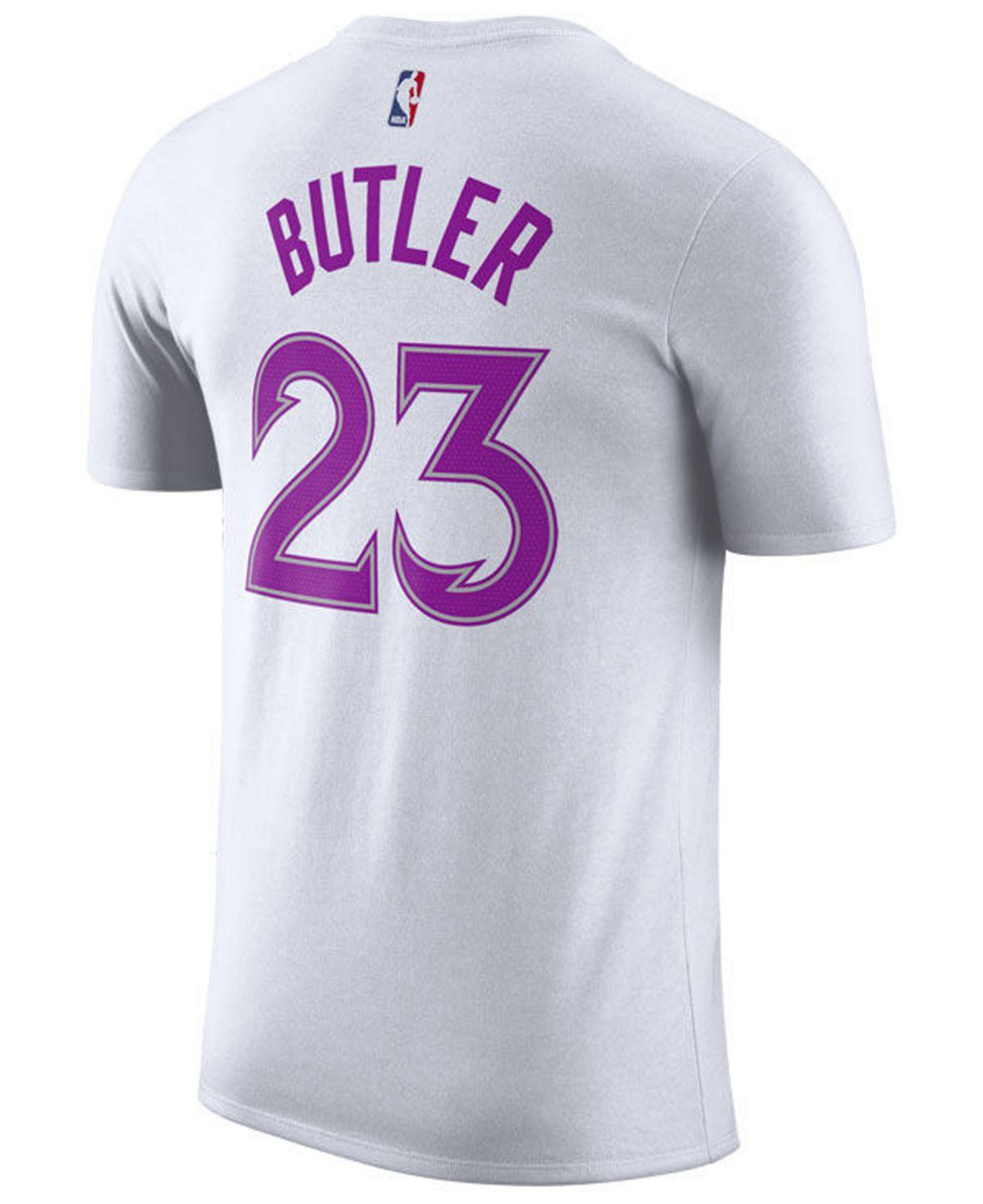 Nike Cotton Jimmy Butler Minnesota Timberwolves Earned Edition
