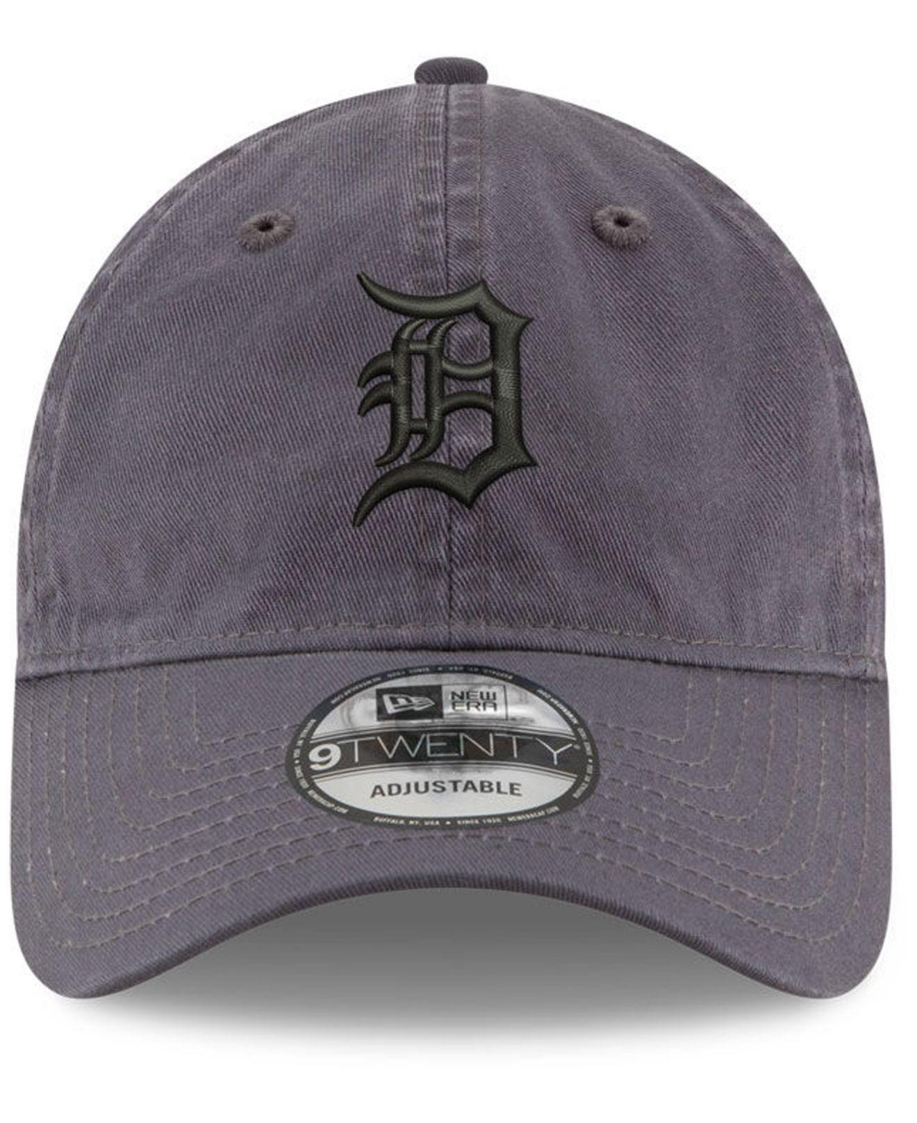 wholesale dealer 3980b be54e ... clearance lyst ktz detroit tigers graphite 9twenty cap in gray for men  6bf87 1b041
