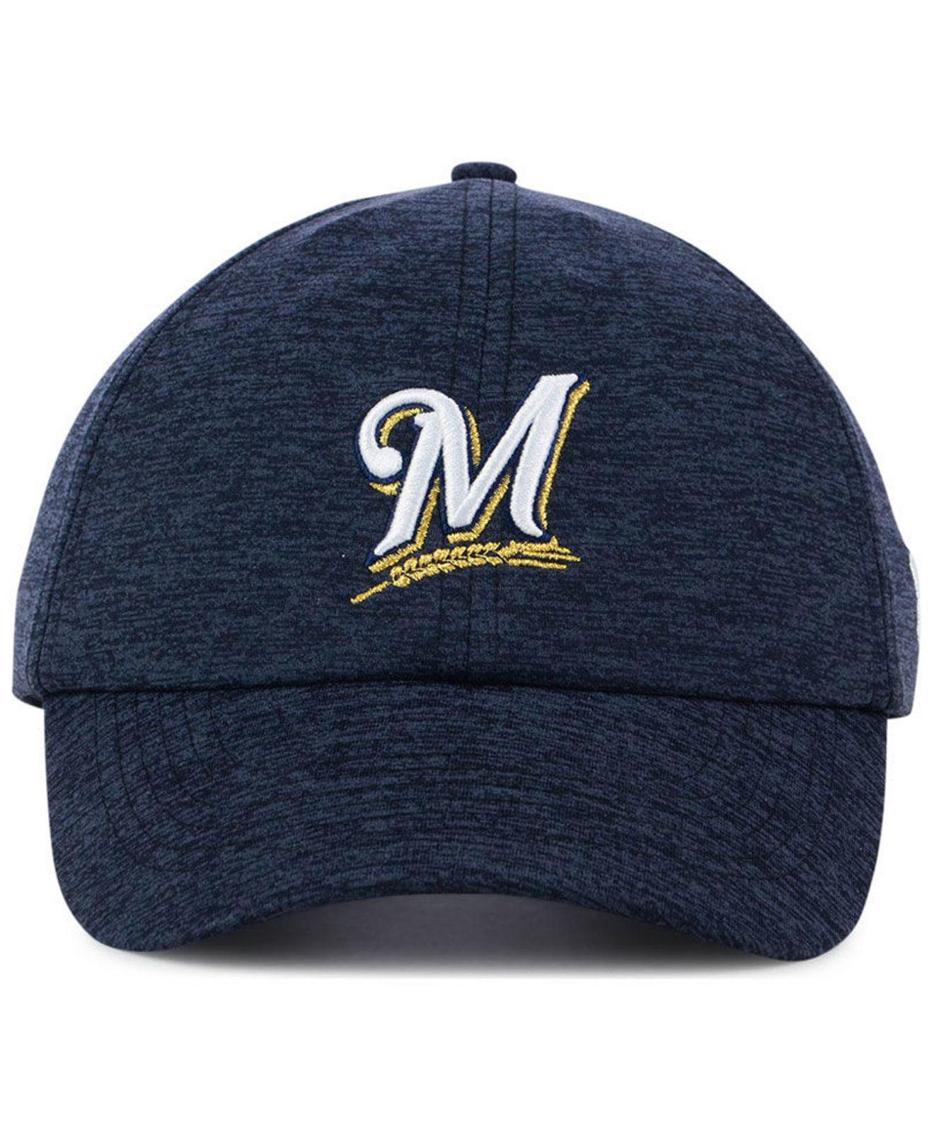 uk availability 353b5 8c5ad ... ireland lyst under armour milwaukee brewers renegade twist cap in blue  save 25.925925925925924 f11f3 2d252