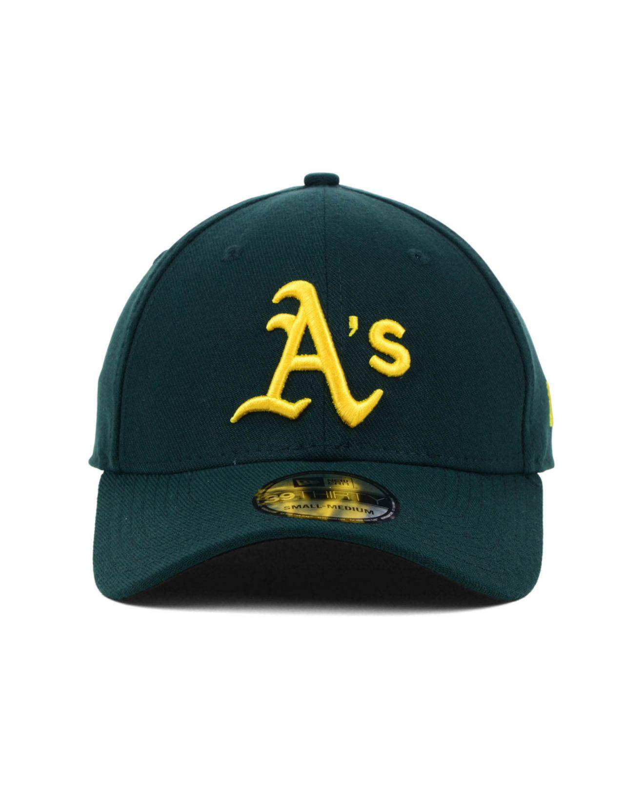 save off f3899 ae6d7 ... denmark lyst ktz oakland athletics mlb team classic 39thirty cap in  green for men 70b75 57f72