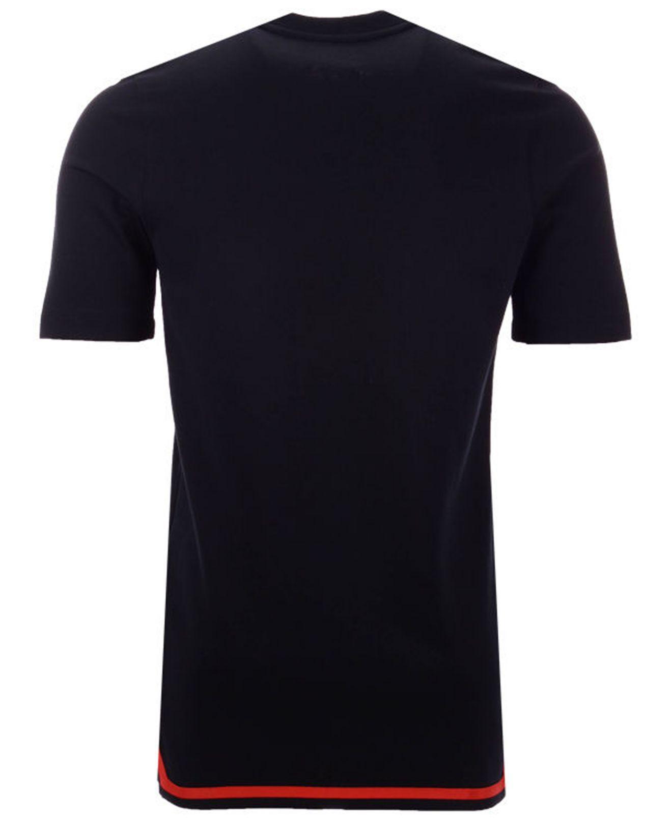 9379cb3497e Nike Portland Trail Blazers City Edition Shooting T-shirt in Black for Men  - Lyst