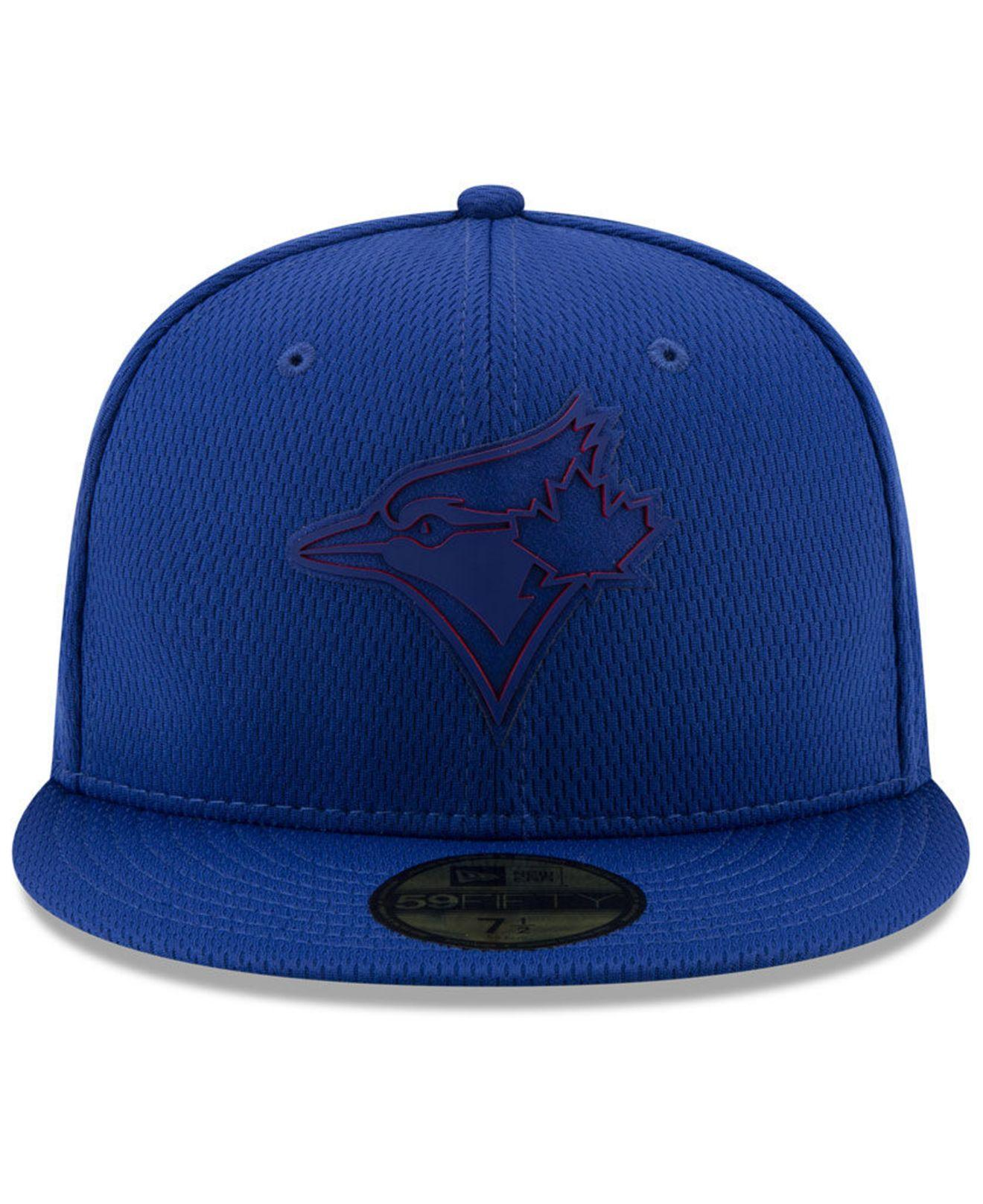 Toronto Blue Jays Wool Camo Black MLB New Era 59Fifty Fitted Hat Cap Brown