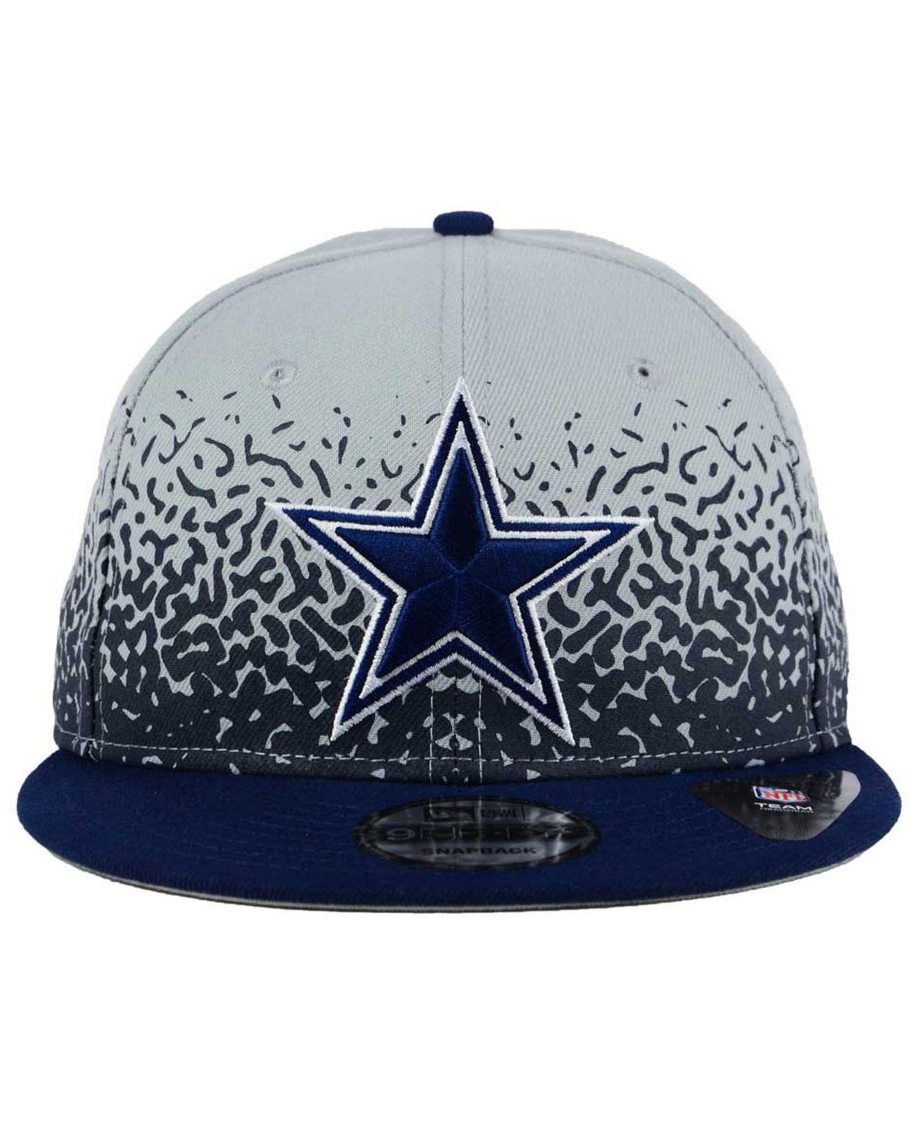 new arrivals bdd4b cabcc 2018 dallas cowboys hats jerseys arel lids nfl f6d57 e1eff  free shipping  lyst ktz dallas cowboys speckle rise 9fifty snapback cap in blue b78f4 1d4ec