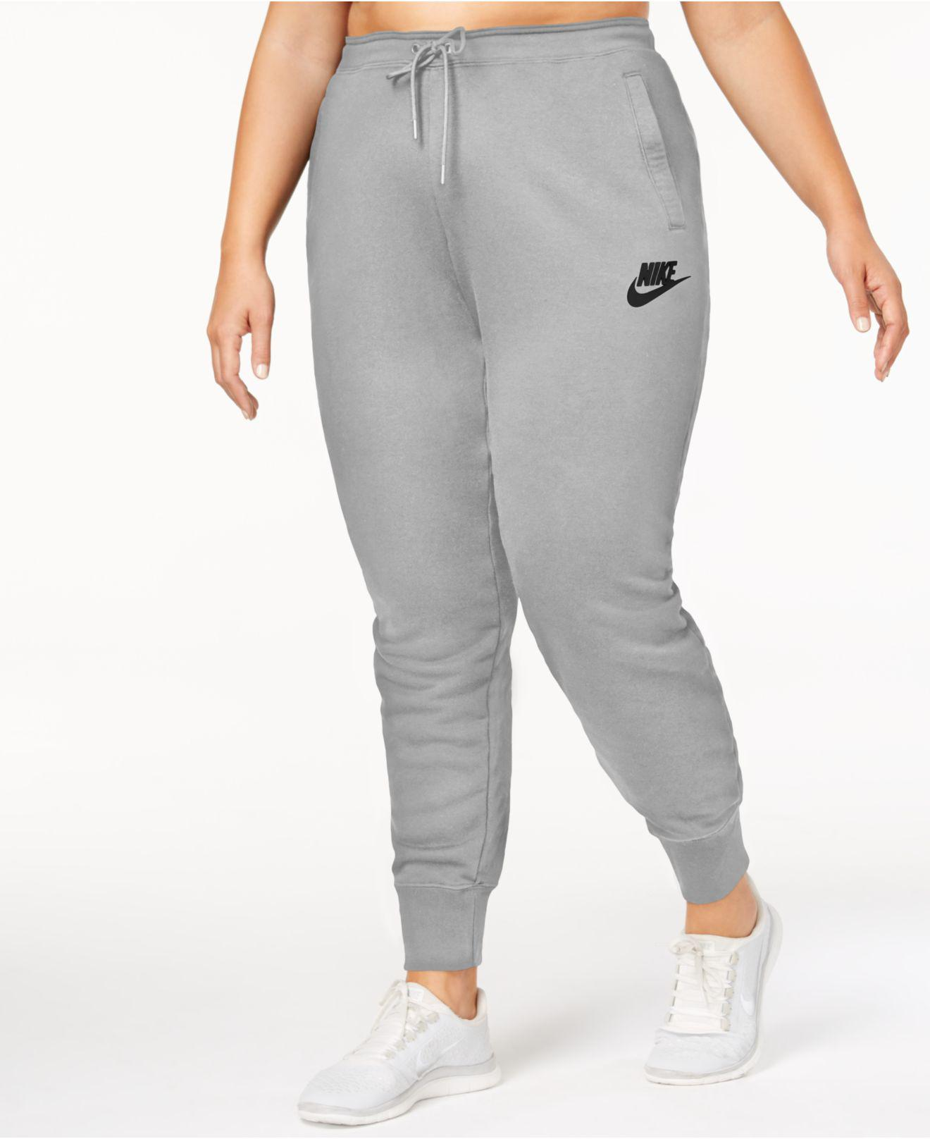 5b7c36c58dc Lyst - Nike Plus Size Sportswear Rally Pants in Gray