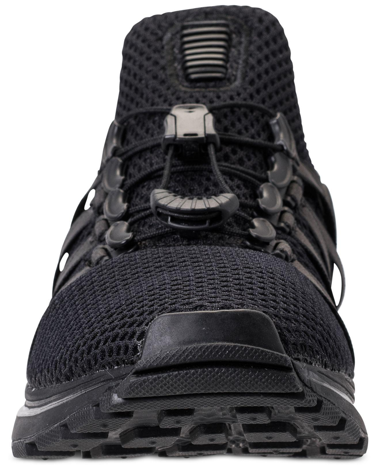 04d920e09d5 Lyst - Nike Shox Gravity Casual Sneakers From Finish Line in Black