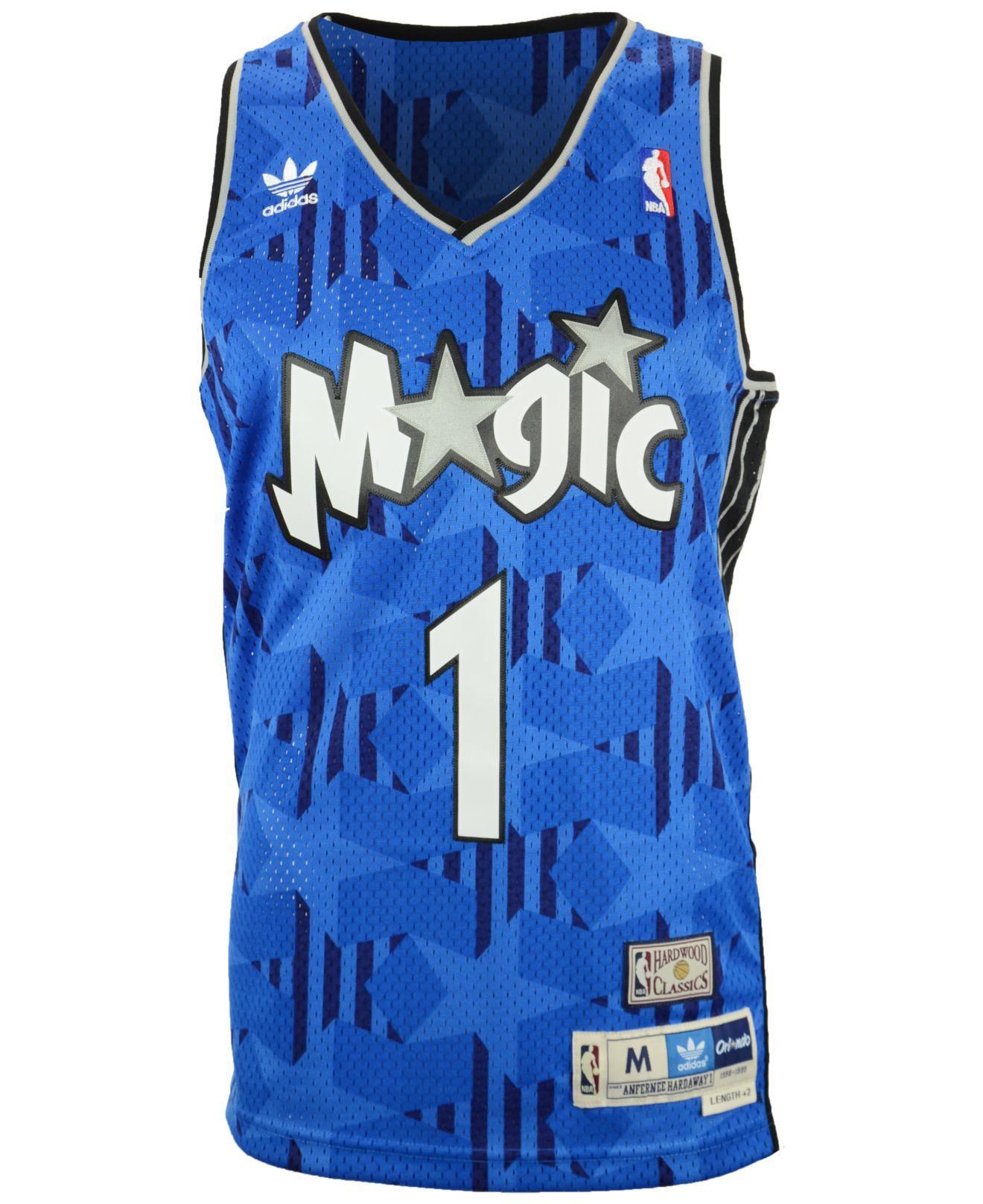 finest selection d78ca c4ea3 Adidas Blue Men's Penny Hardaway Orlando Magic Swingman Jersey for men