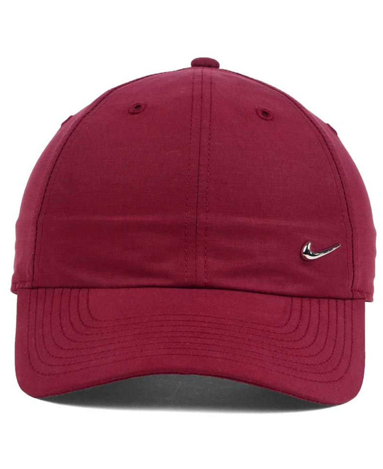 151352e4433 Lyst - Nike Metal Swoosh Cap in Red for Men