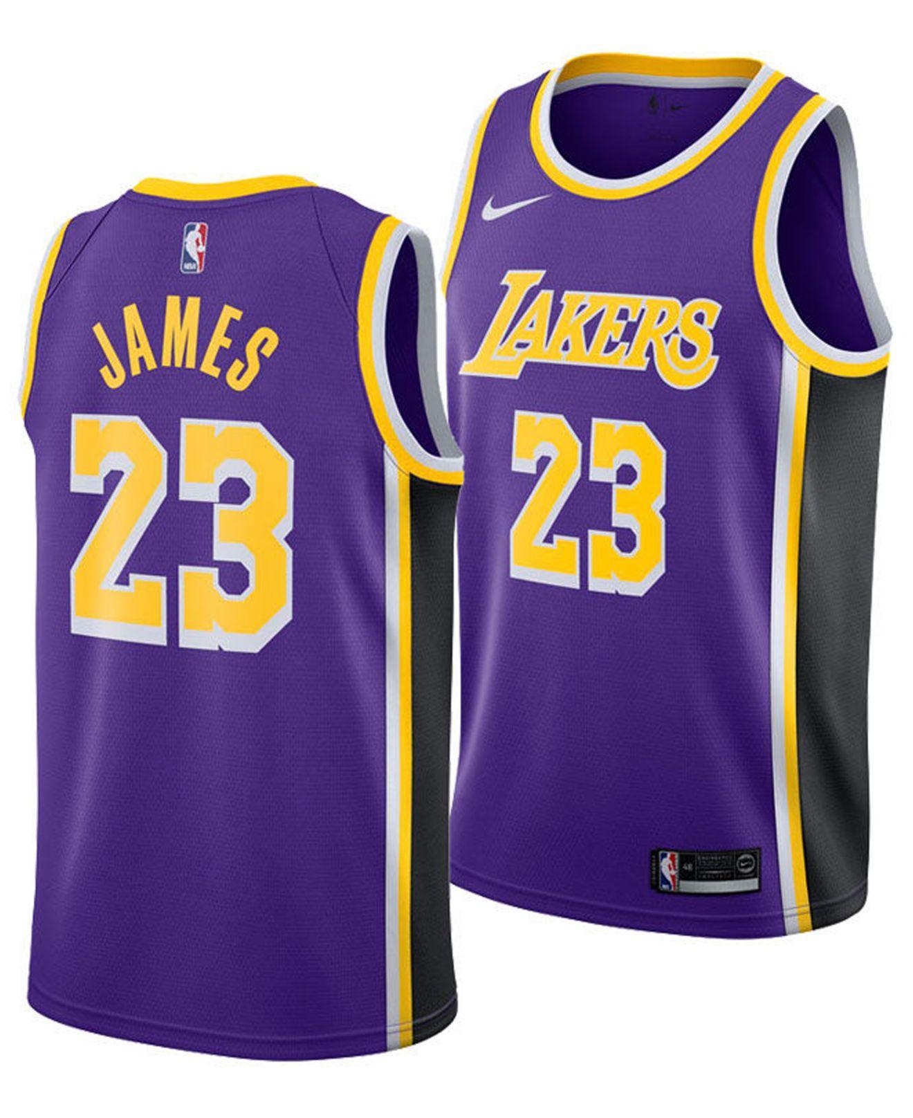 sale retailer a3ae2 5b044 Men's Purple Nba Swingman Basketball Jersey