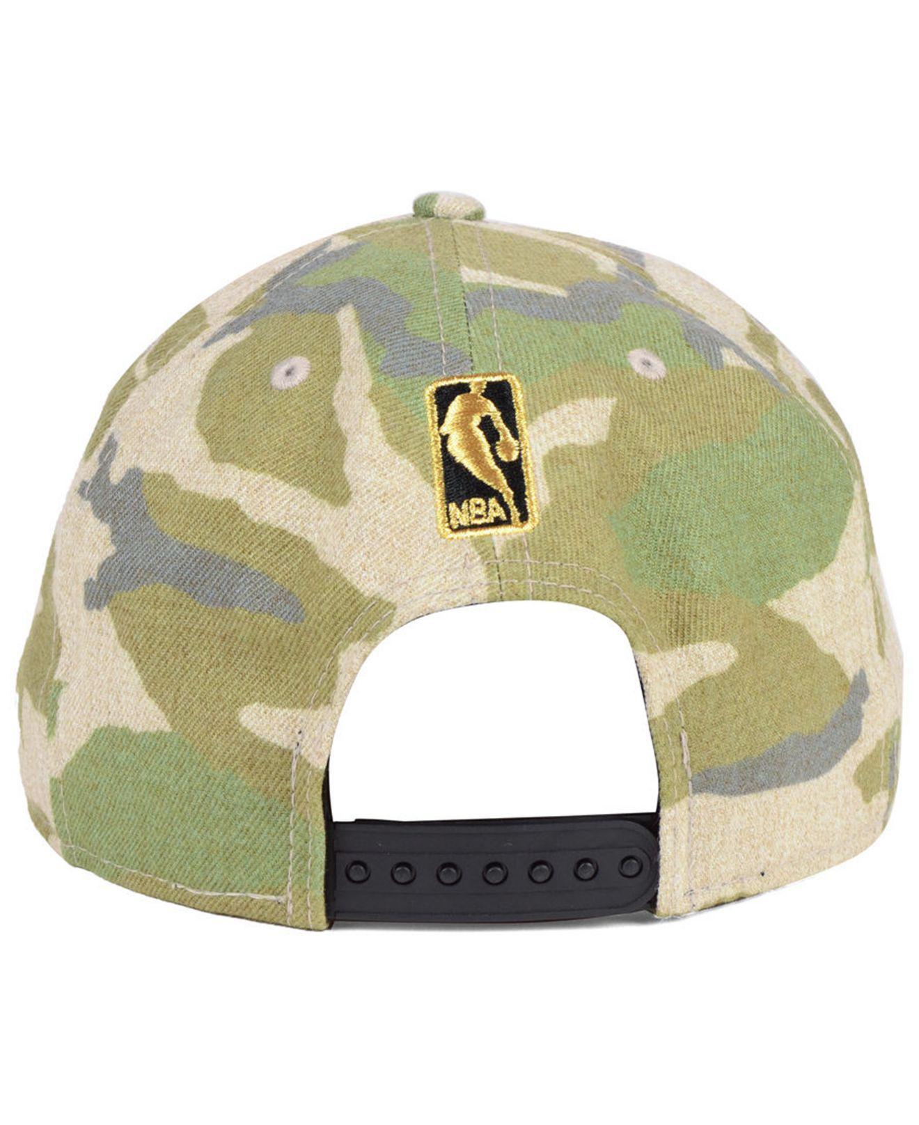 new product fc079 34678 KTZ - Green Chicago Bulls Combo Camo 9fifty Snapback Cap for Men - Lyst.  View fullscreen