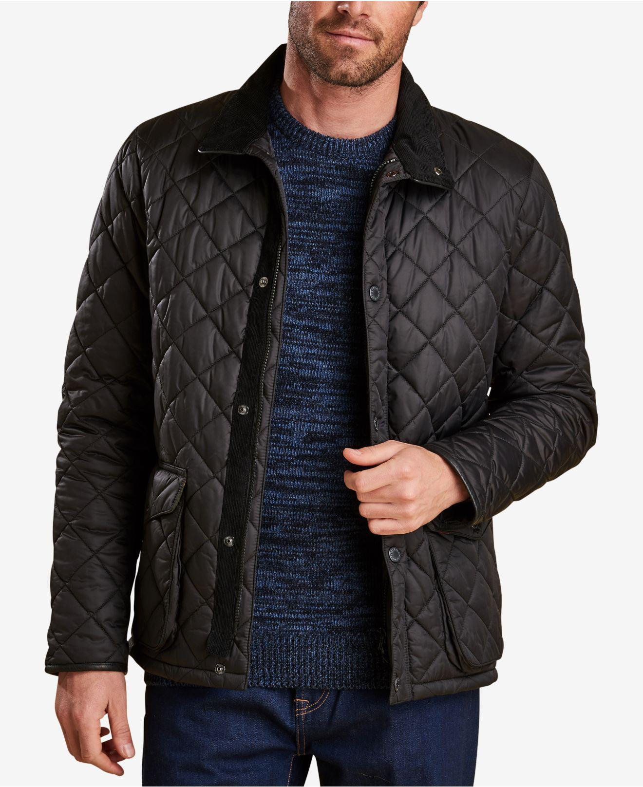 Barbour Corduroy Evanston Quilted Jacket A Sam Heughan