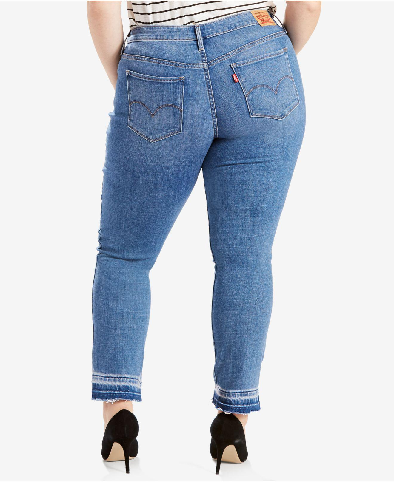 8a4e20451aa Lyst - Levi s Plus Size 311 Shaping Skinny Jeans in Blue