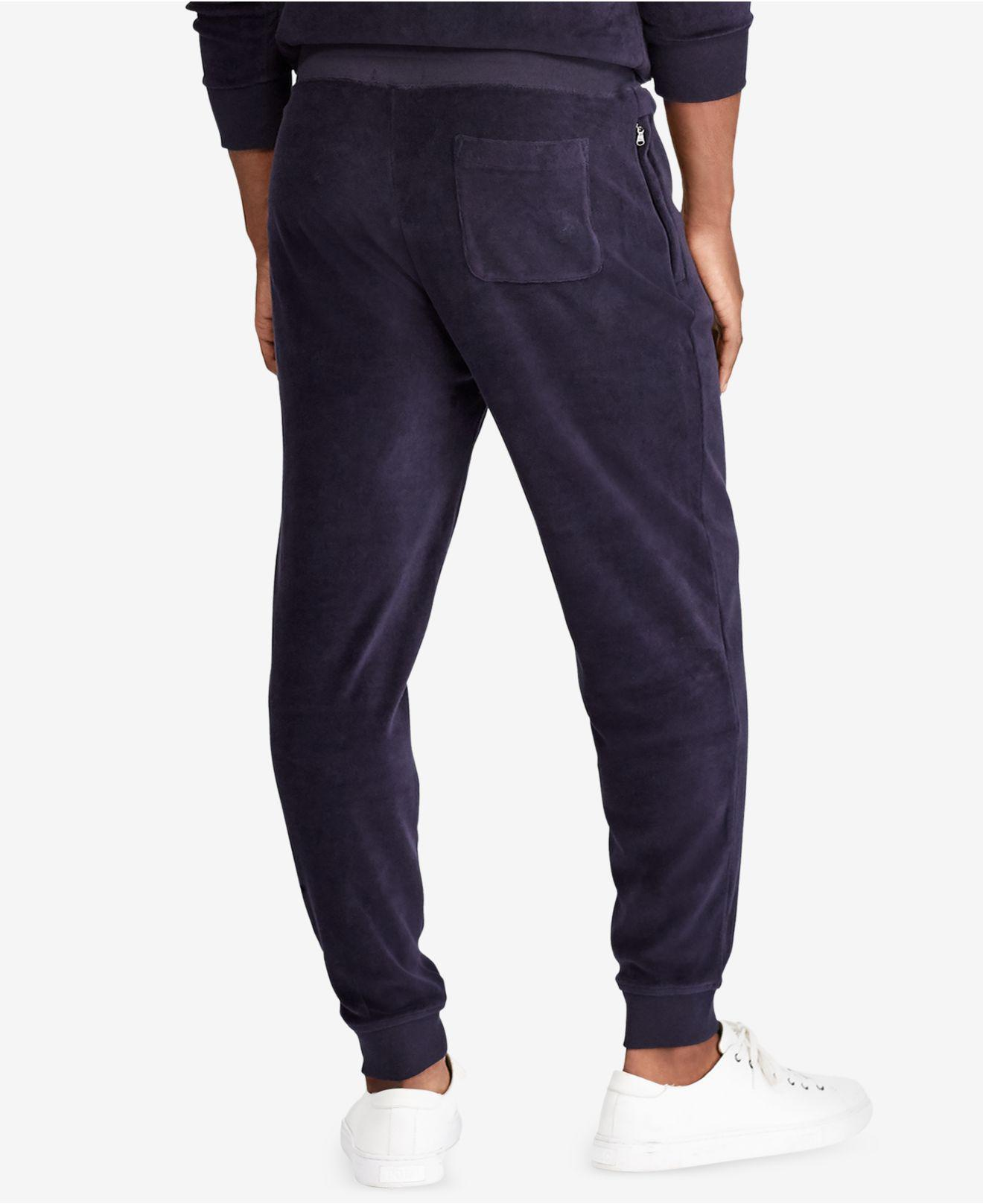 1ed04af8d6f Lyst - Polo Ralph Lauren Big   Tall Jogger Pants in Blue for Men