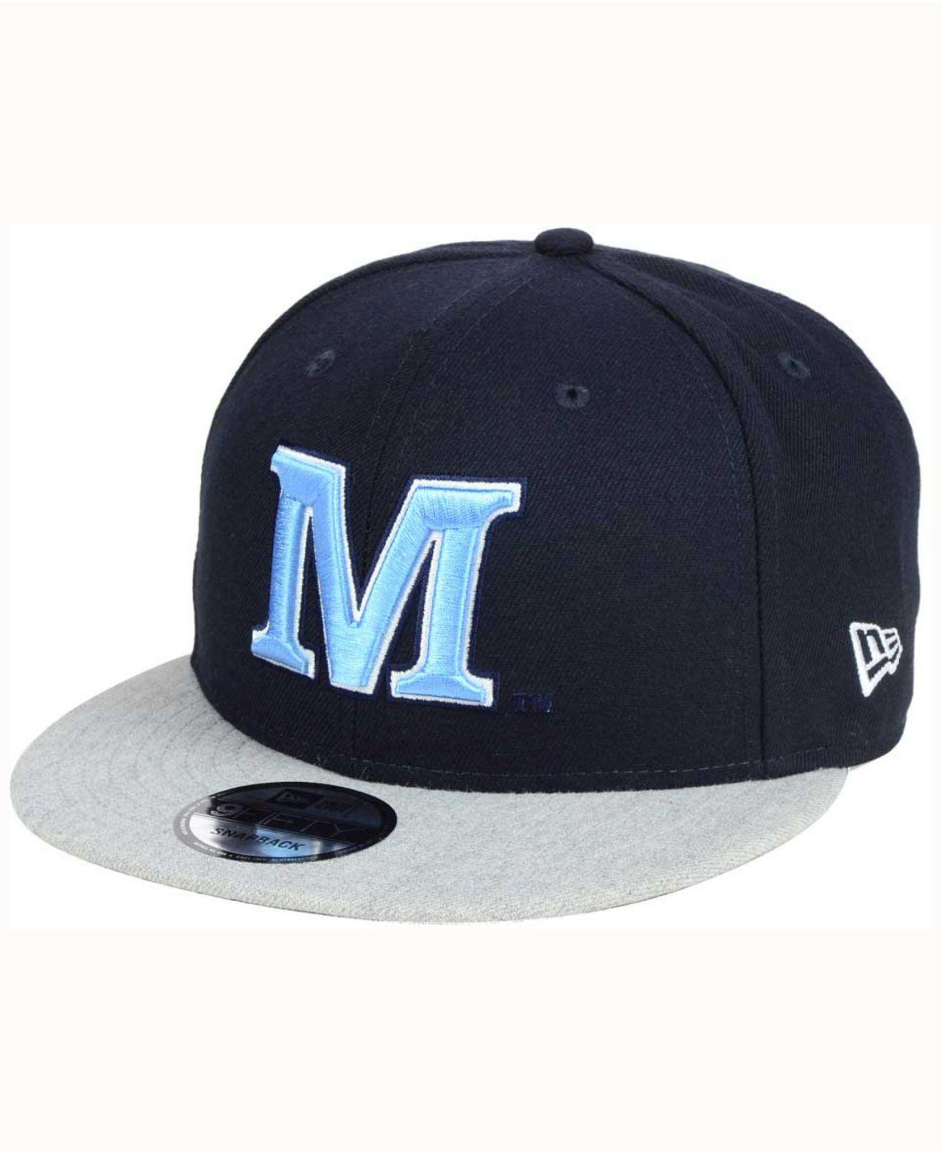 720544acada Lyst - Ktz Mb 9fifty Snapback Cap in Blue for Men