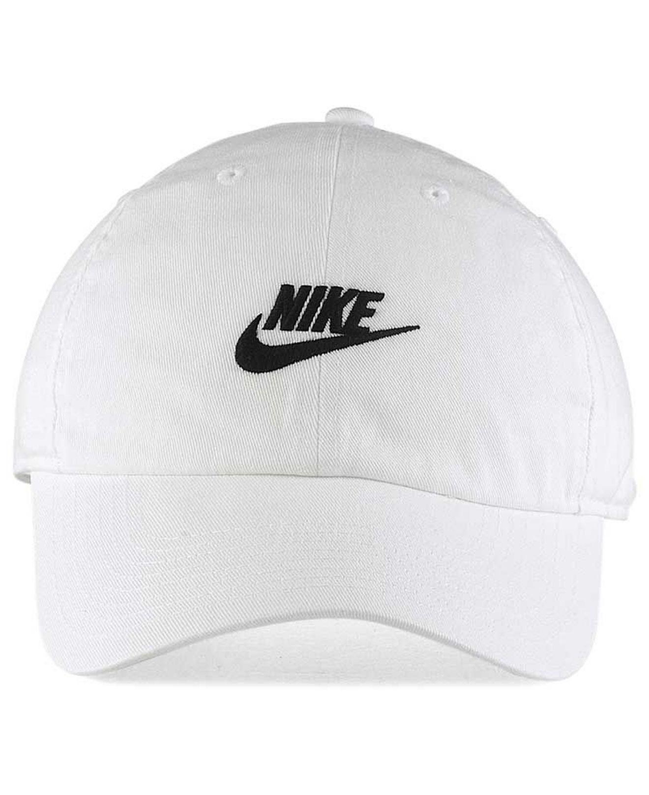 68198b65152 Lyst - Nike Futura Heritage 2.0 Cap in White