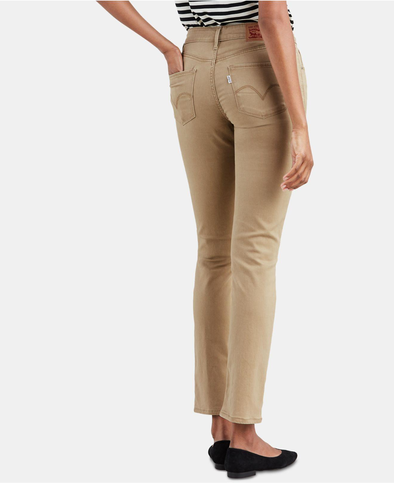 e168e4e69b0a Lyst - Levi's ® Mid-rise Skinny Jeans - Save 34%