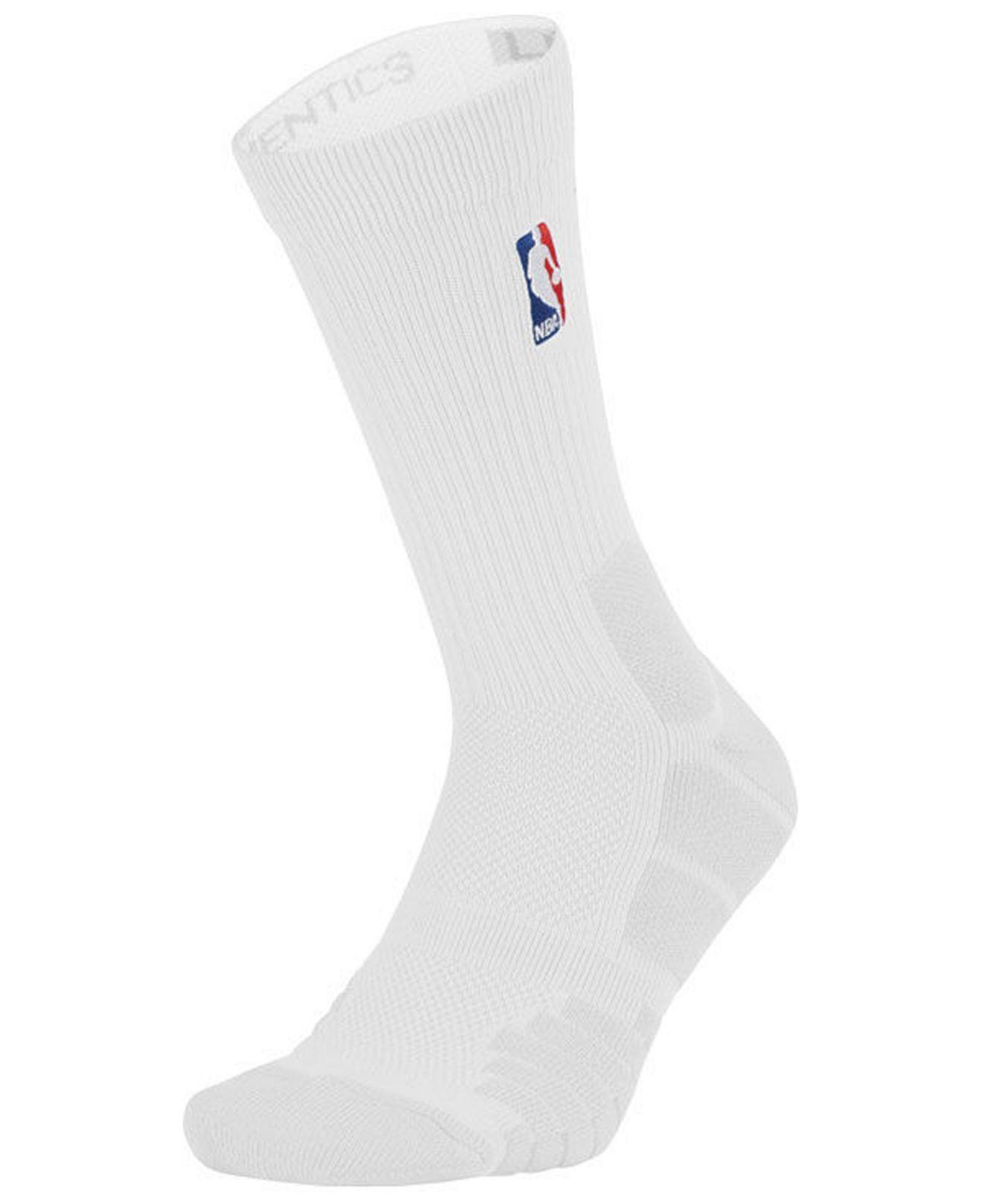 4abbdad1a64 Lyst - Nike Nba All Star Elite Quick Jordan Crew Socks in White for Men