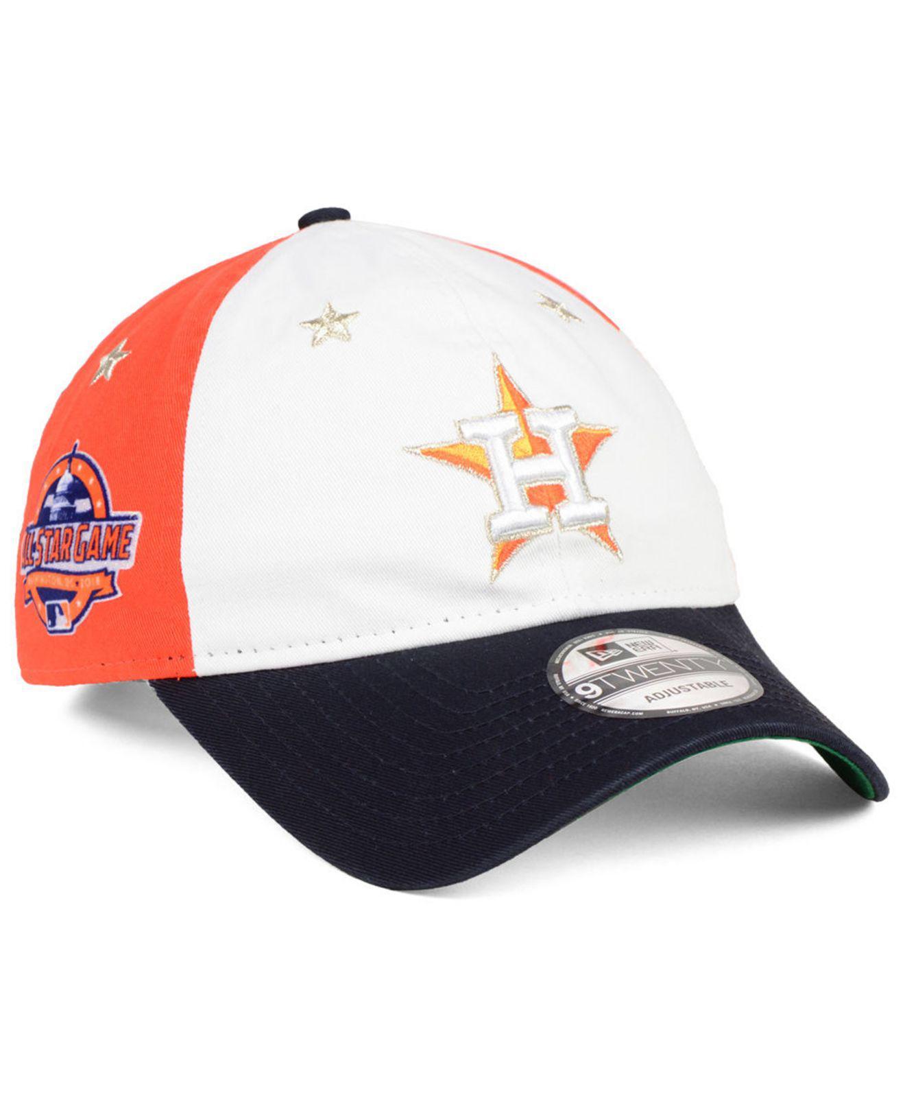 new arrival a4441 a3682 KTZ Houston Astros All Star Game 9twenty Strapback Cap 2018 in Blue ...