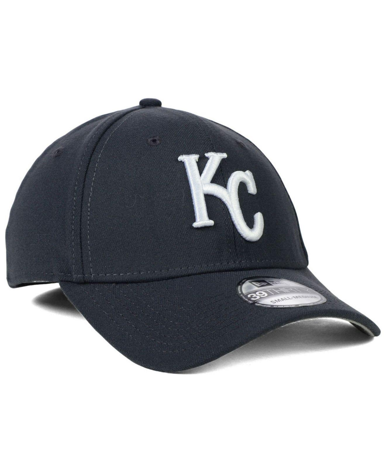 cheap prices professional sale best KTZ Synthetic Kansas City Royals Fashion 39thirty Cap in Charcoal ...