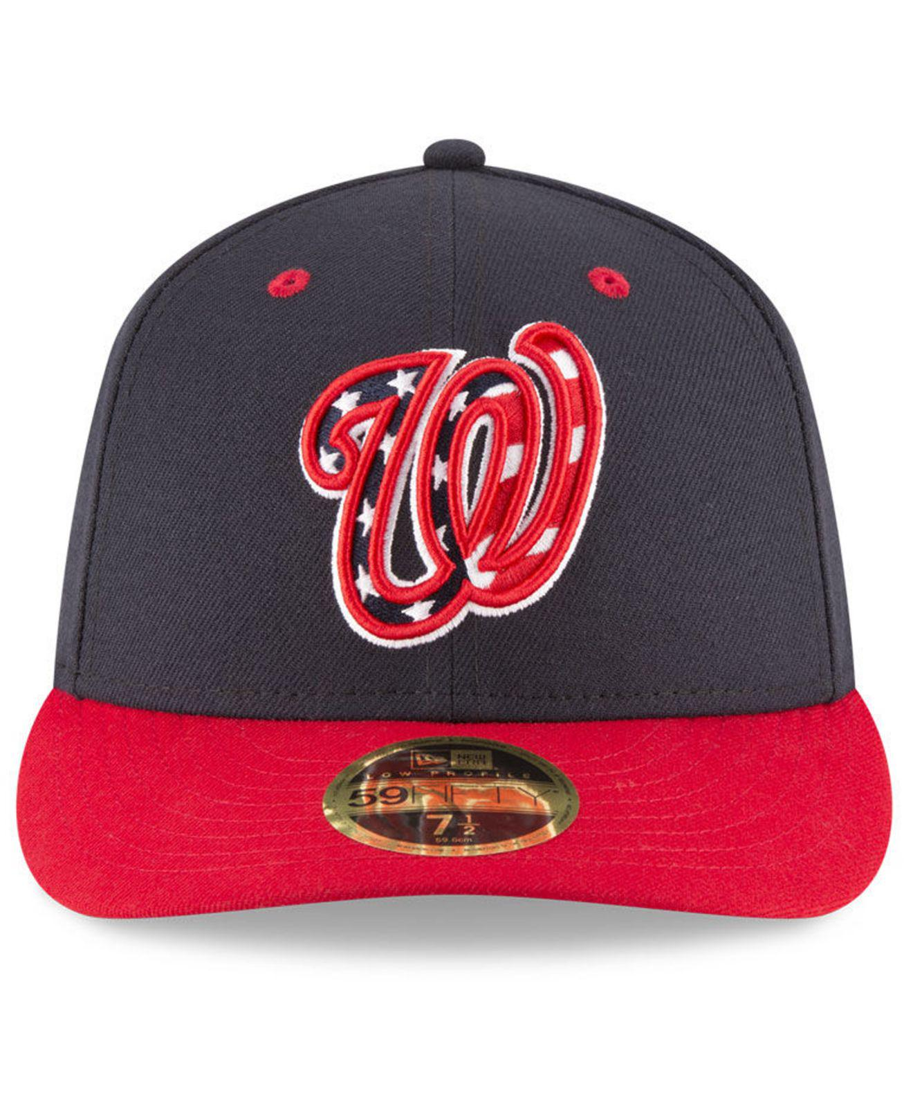 02d2e58781c07 ... low price lyst ktz washington nationals washington all star game patch  low profile 59fifty fitted cap