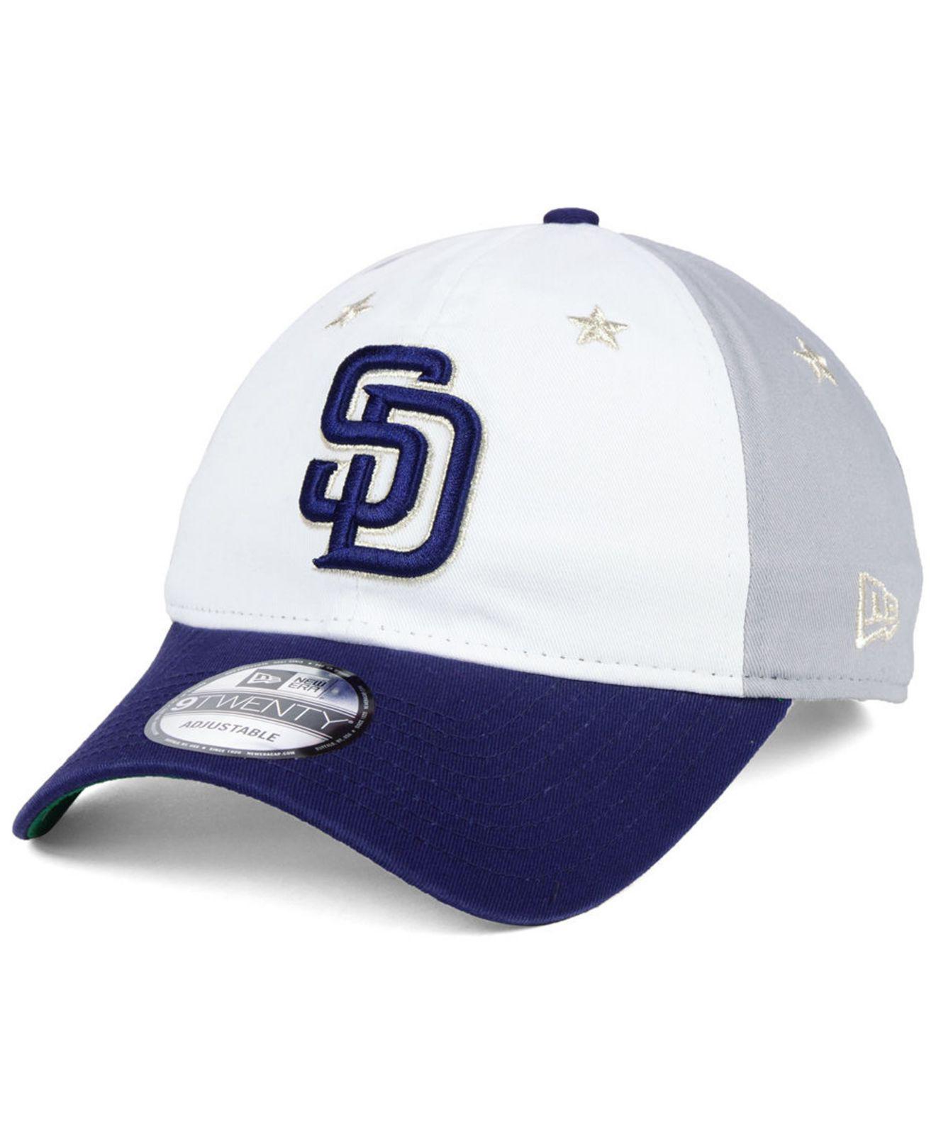 big sale a87ab 1085b ... mlb baseball cfaab 97e15  official store san diego padres all star game  9twenty strapback cap 2018 for men . view