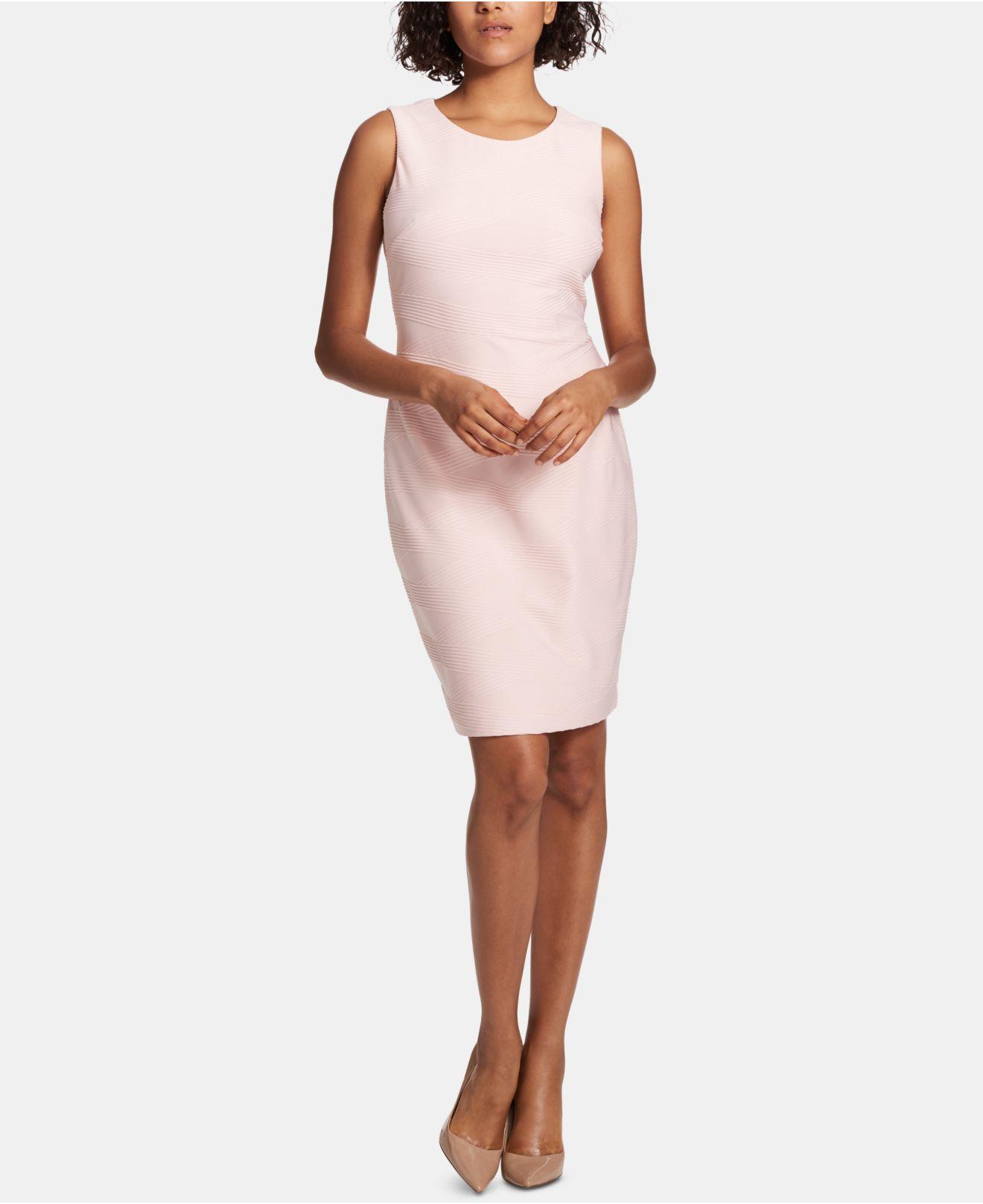 Tommy Hilfiger Women/'s Sleeveless Printed Texture Dress