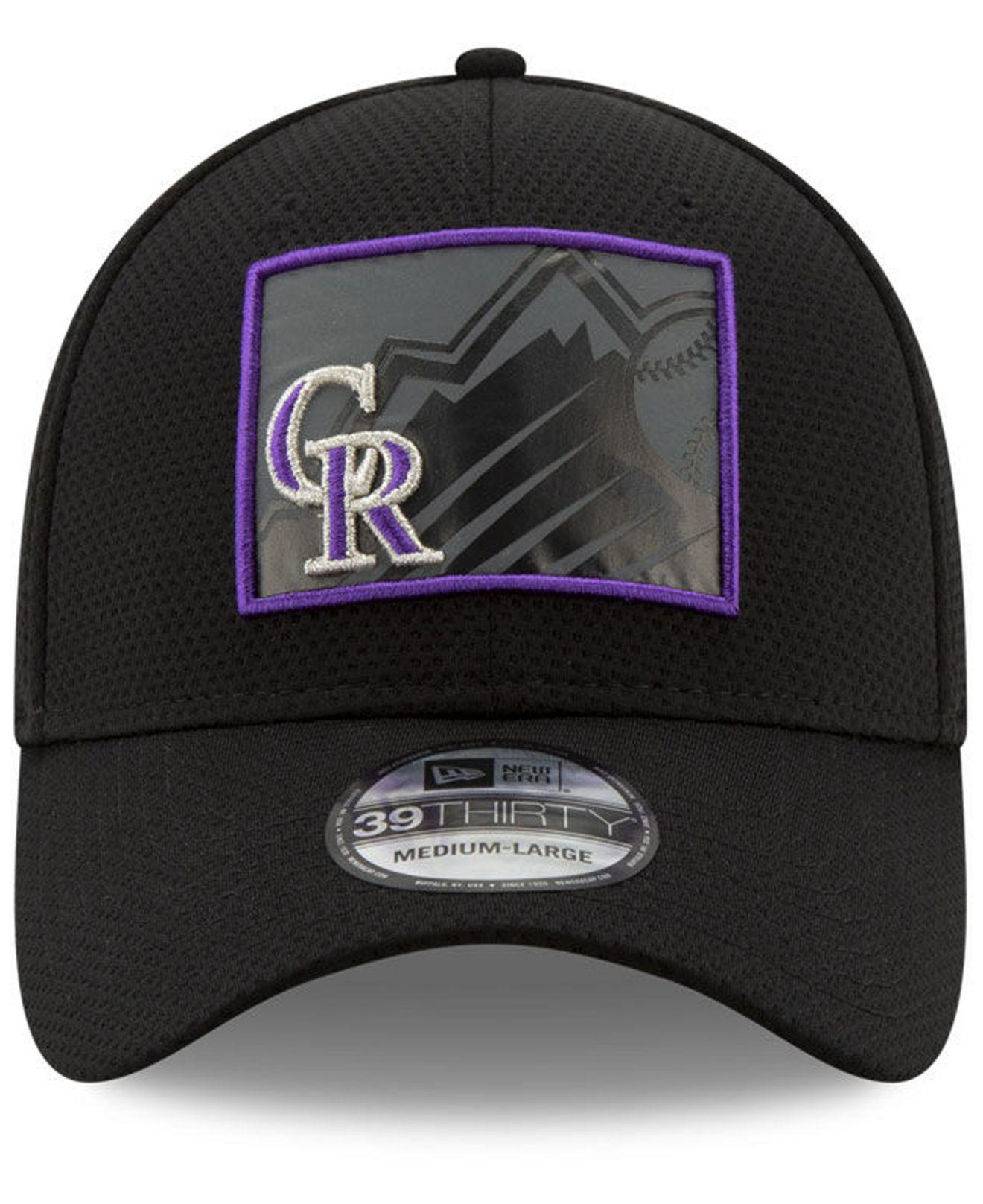 wholesale dealer a7ddf 8f460 Lyst - KTZ Colorado Rockies State Flective 2.0 39thirty Cap in Black for Men