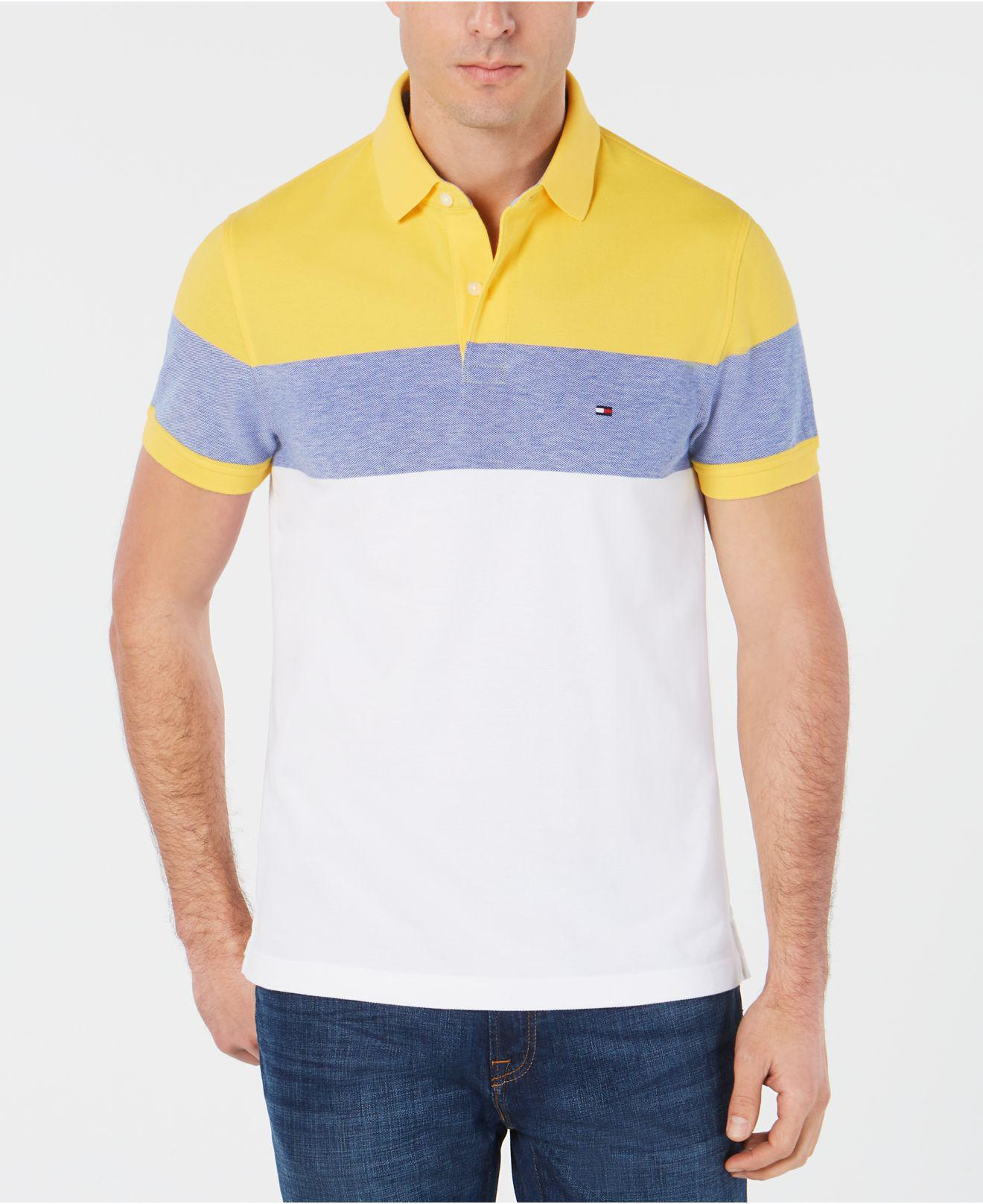 Tommy Hilfiger Cotton Custom Fit Striped Polo, Created For