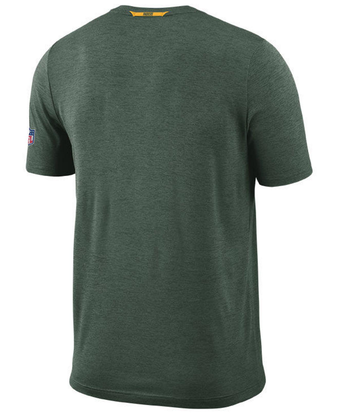 Lyst - Nike Green Bay Packers Coaches T-shirt in Green for Men 7ad545af6
