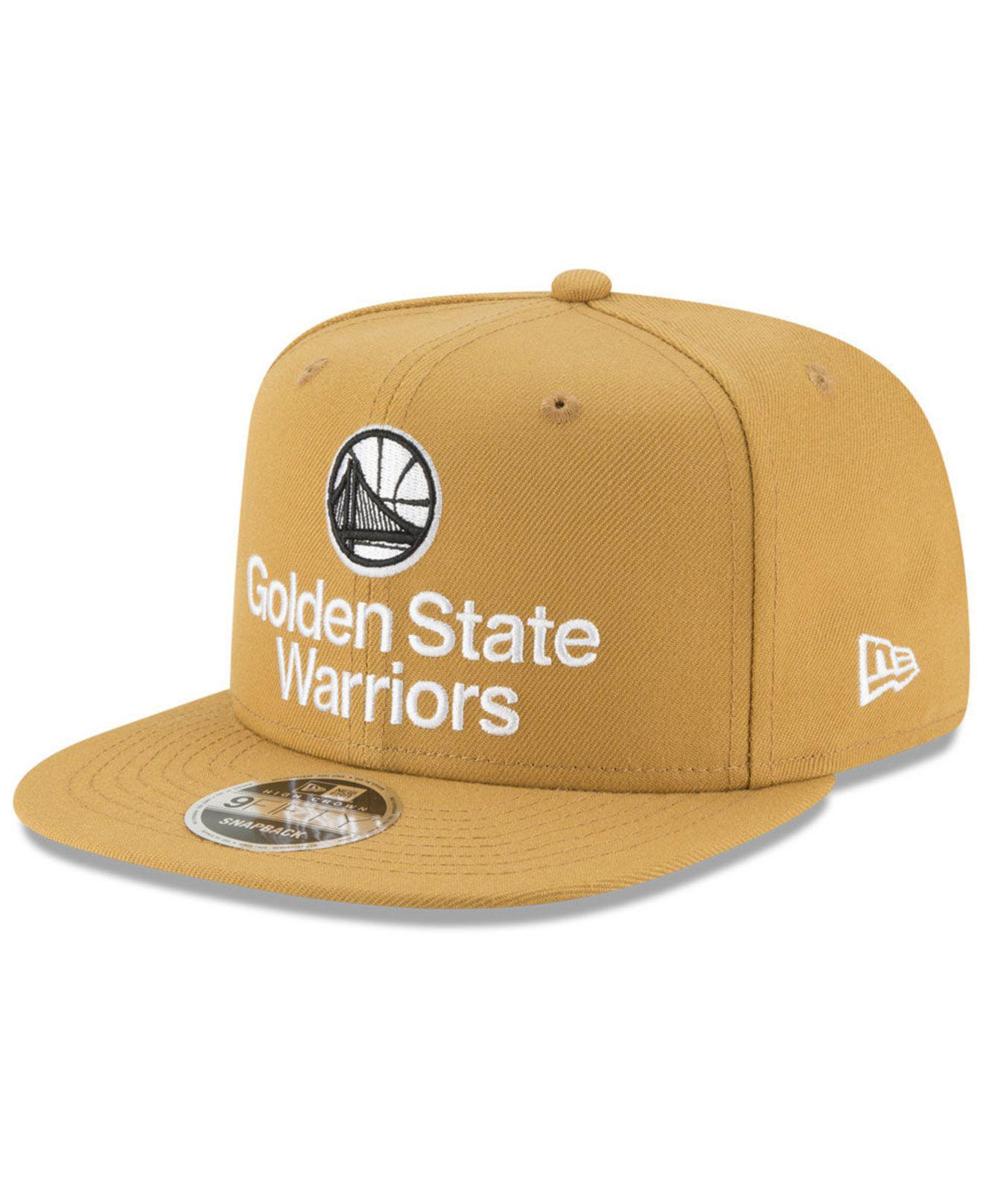 new arrival efe95 5a4c0 KTZ. Men s Golden State Warriors Retro Basic 9fifty Snapback Cap