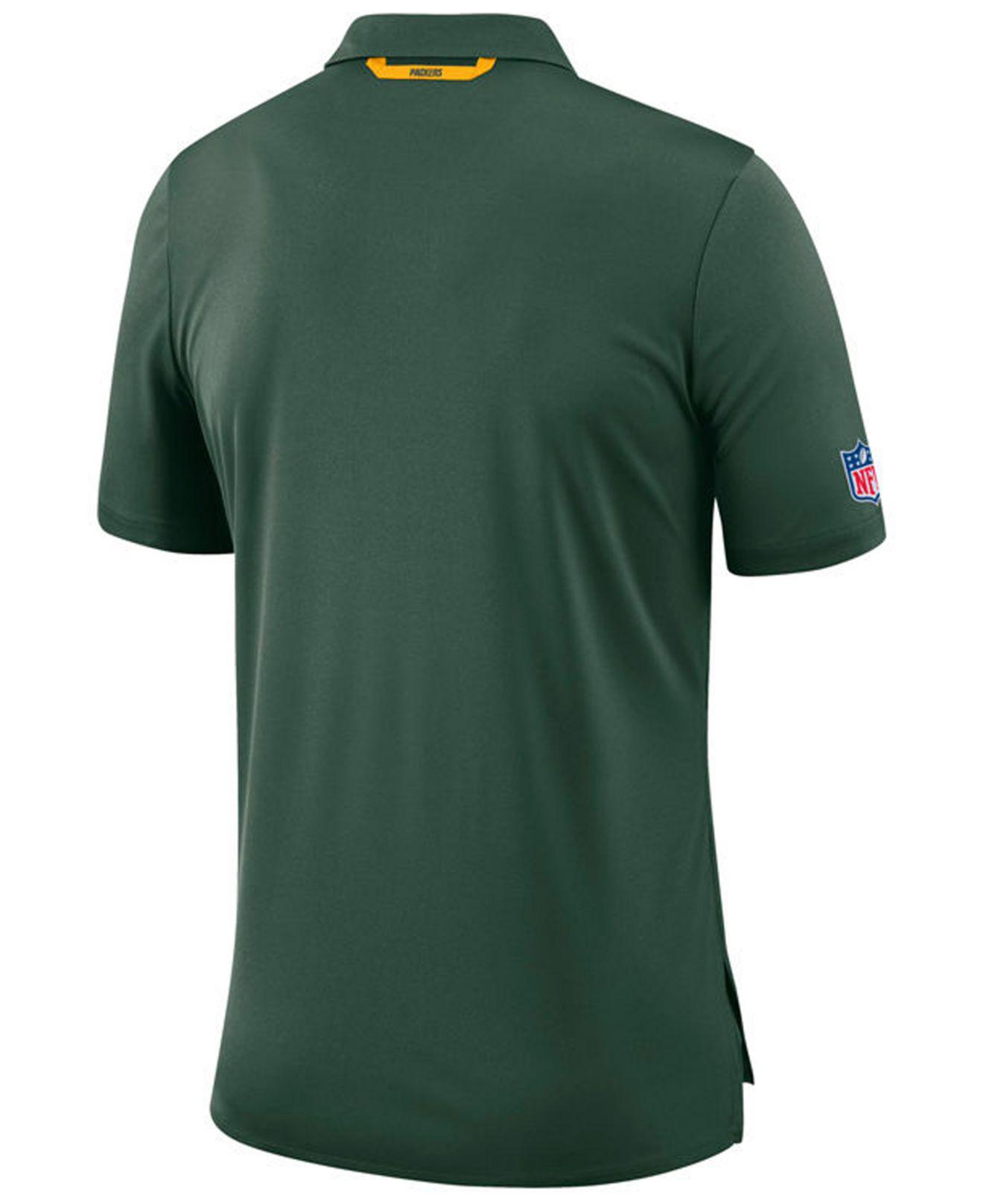 Lyst - Nike Green Bay Packers Early Season Polo in Green for Men 29e6c64c2