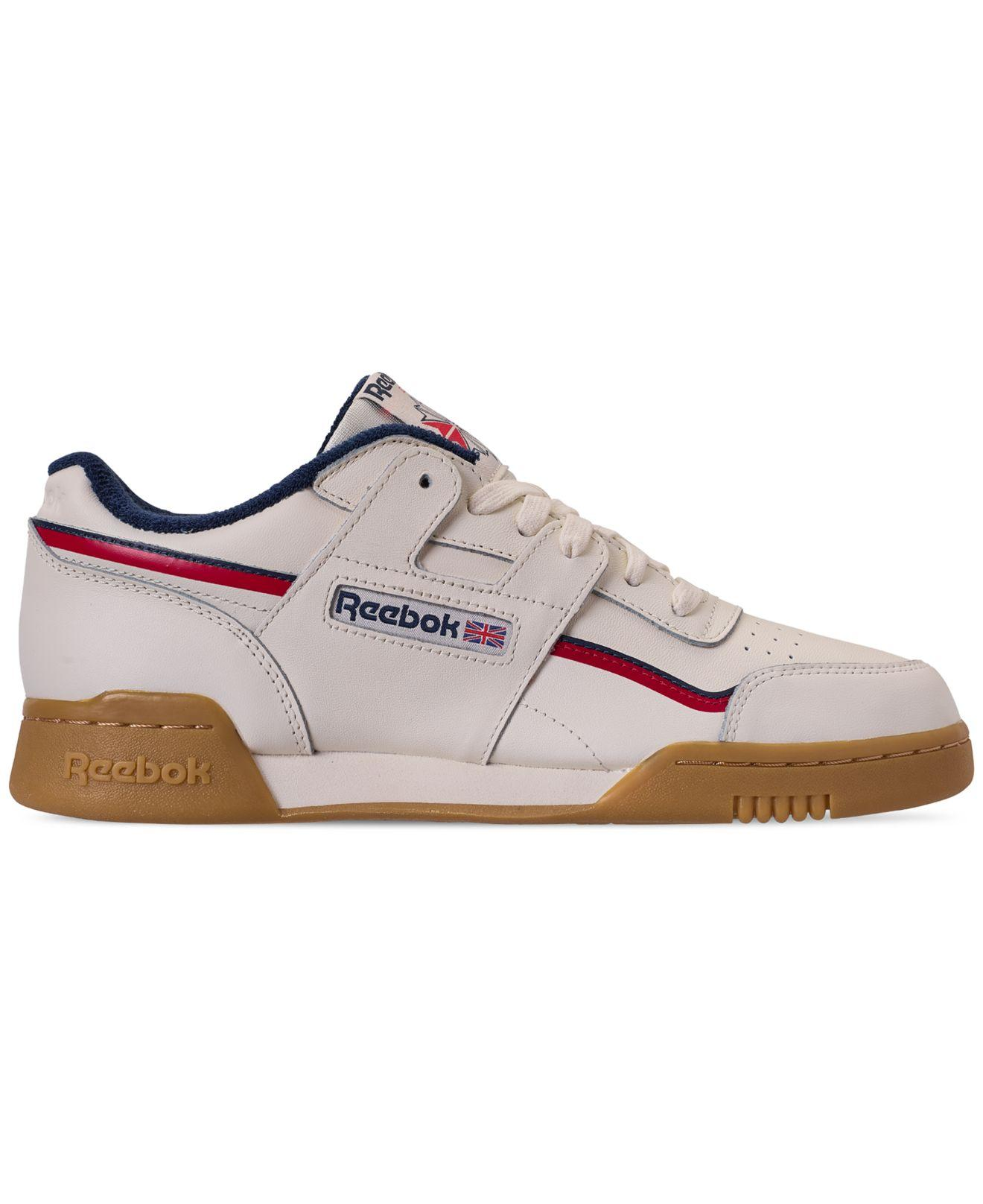 63890f497fb003 Lyst - Reebok Workout Plus Mu Casual Sneakers From Finish Line in White for  Men