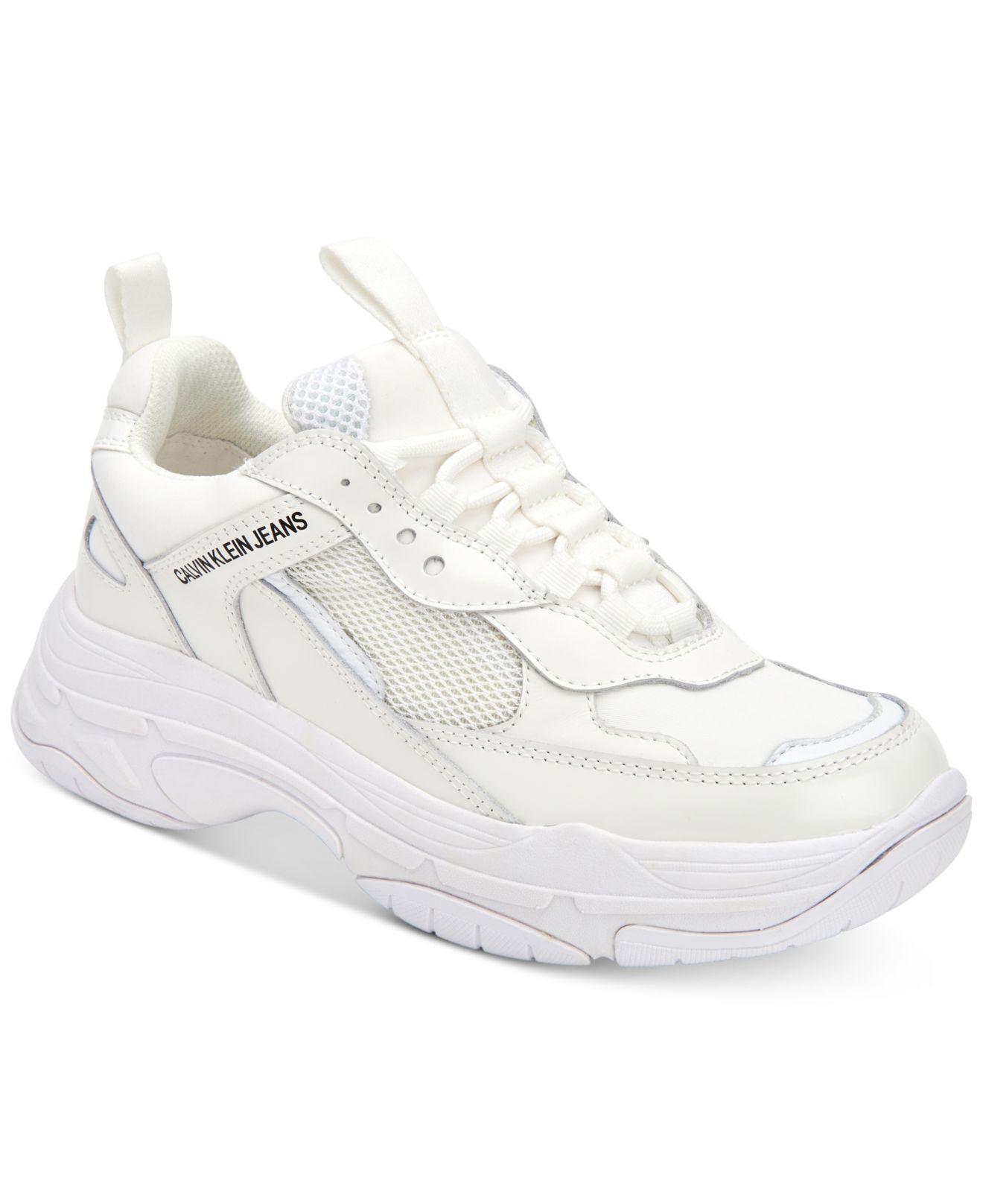 Sneakers White Klein Maya Calvin In Lyst t4qv0xw