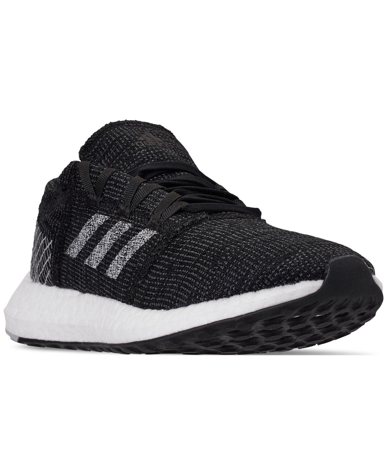 5db32583f Lyst - adidas Pureboost Go Running Sneakers From Finish Line in Black