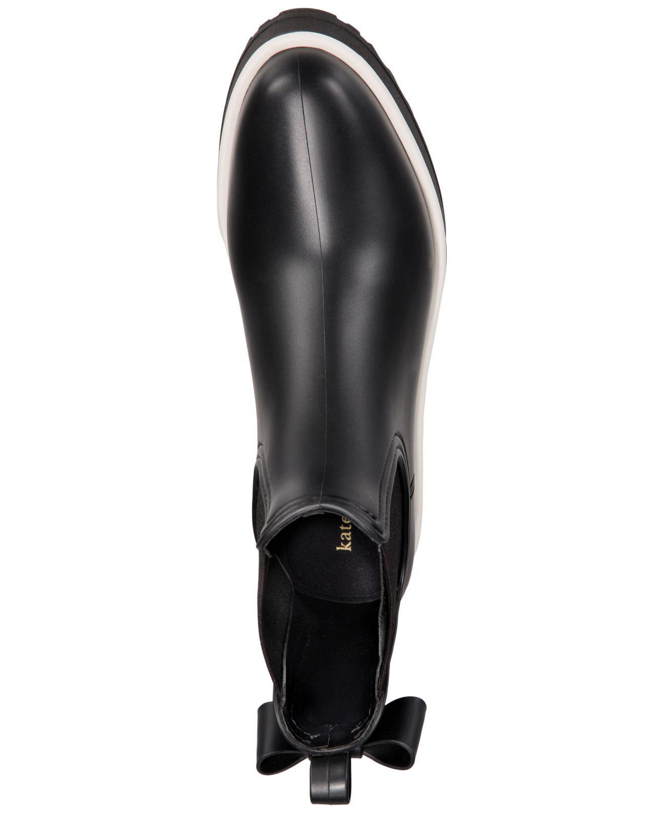Kate Spade Rubber Malcom Rain Shoe In Black - Lyst-7260
