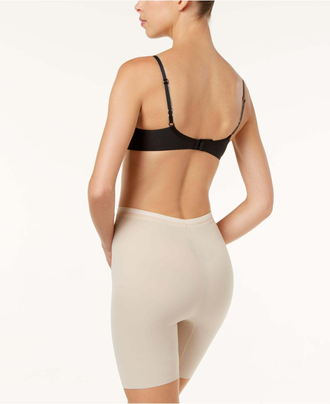 bcf4c5b683 Lyst - Maidenform Firm Foundations Firm Control Thigh Slimmer Dm5005 in  Natural