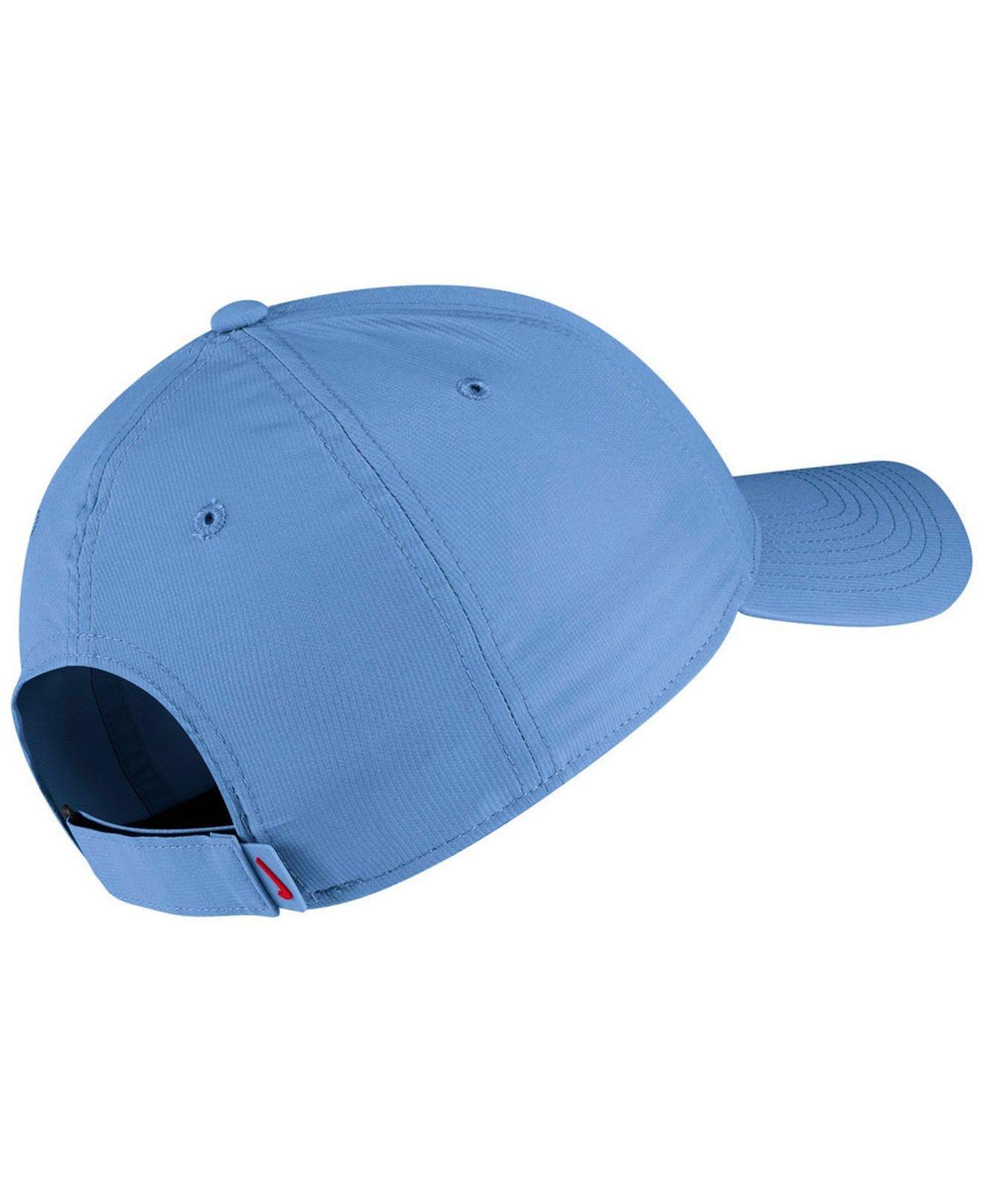 6eb73d5c410 Lyst - Nike Ole Miss Rebels Dri-fit Adjustable Cap in Blue for Men